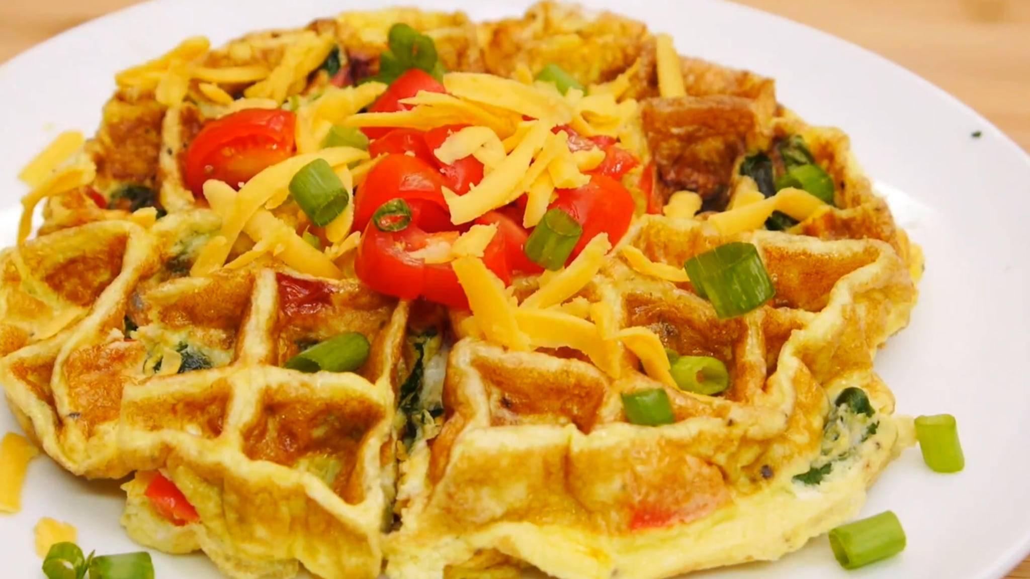 omelette waffeleisen