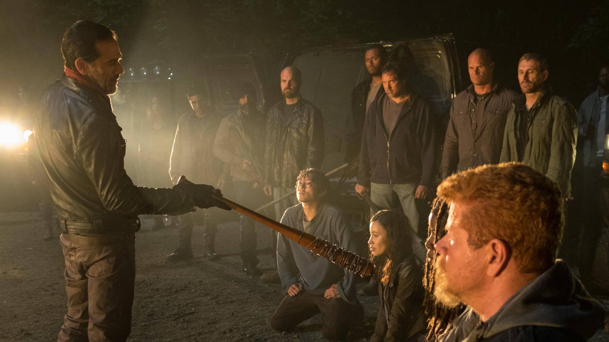 Auch für Jeffrey Dean Morgan (Negan) war der Dreh eine emotionale Tortur.