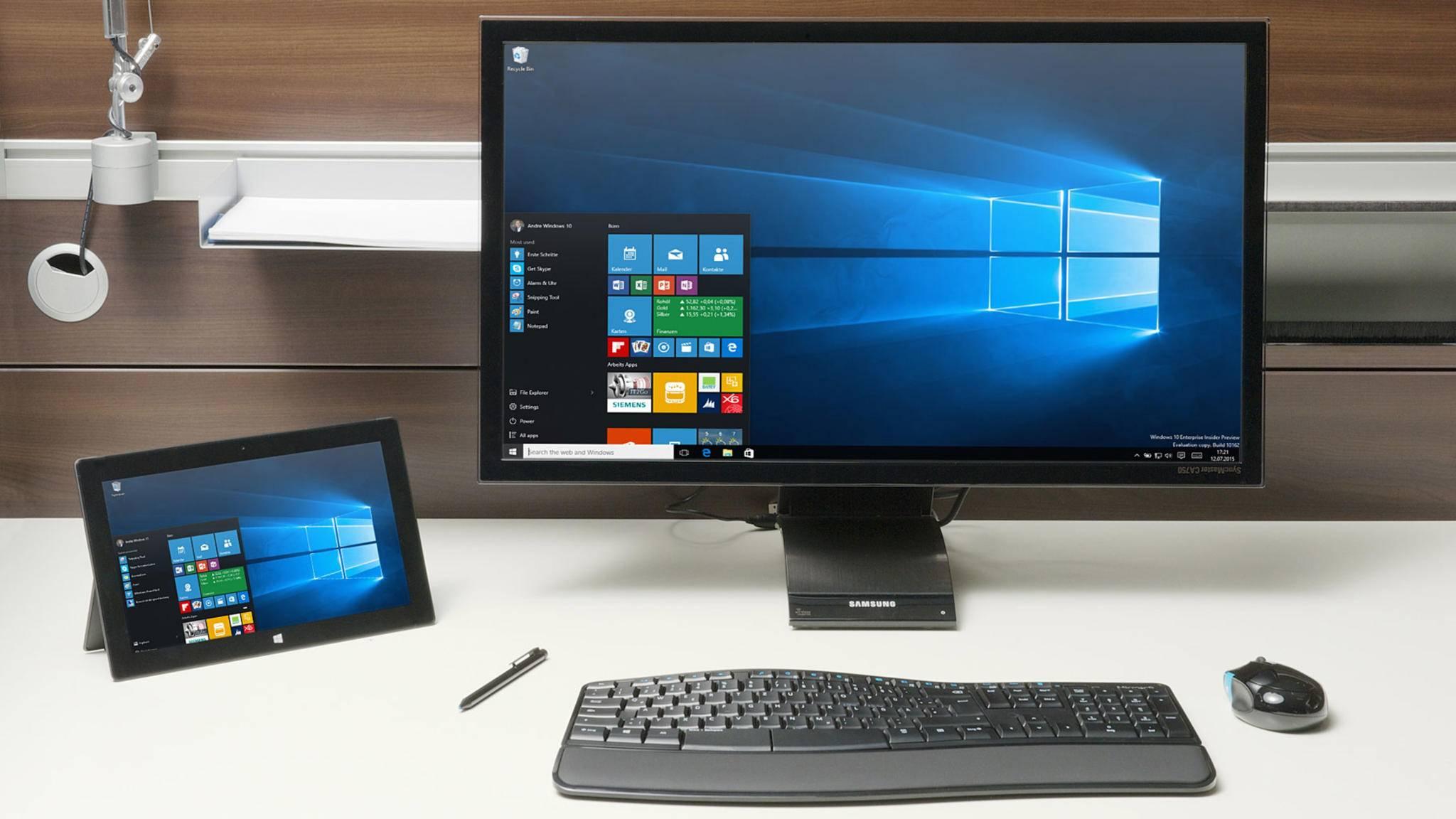 Microsoft bietet alle Tools für die Erstellung eines bootfähigen USB-Sticks selbst an.