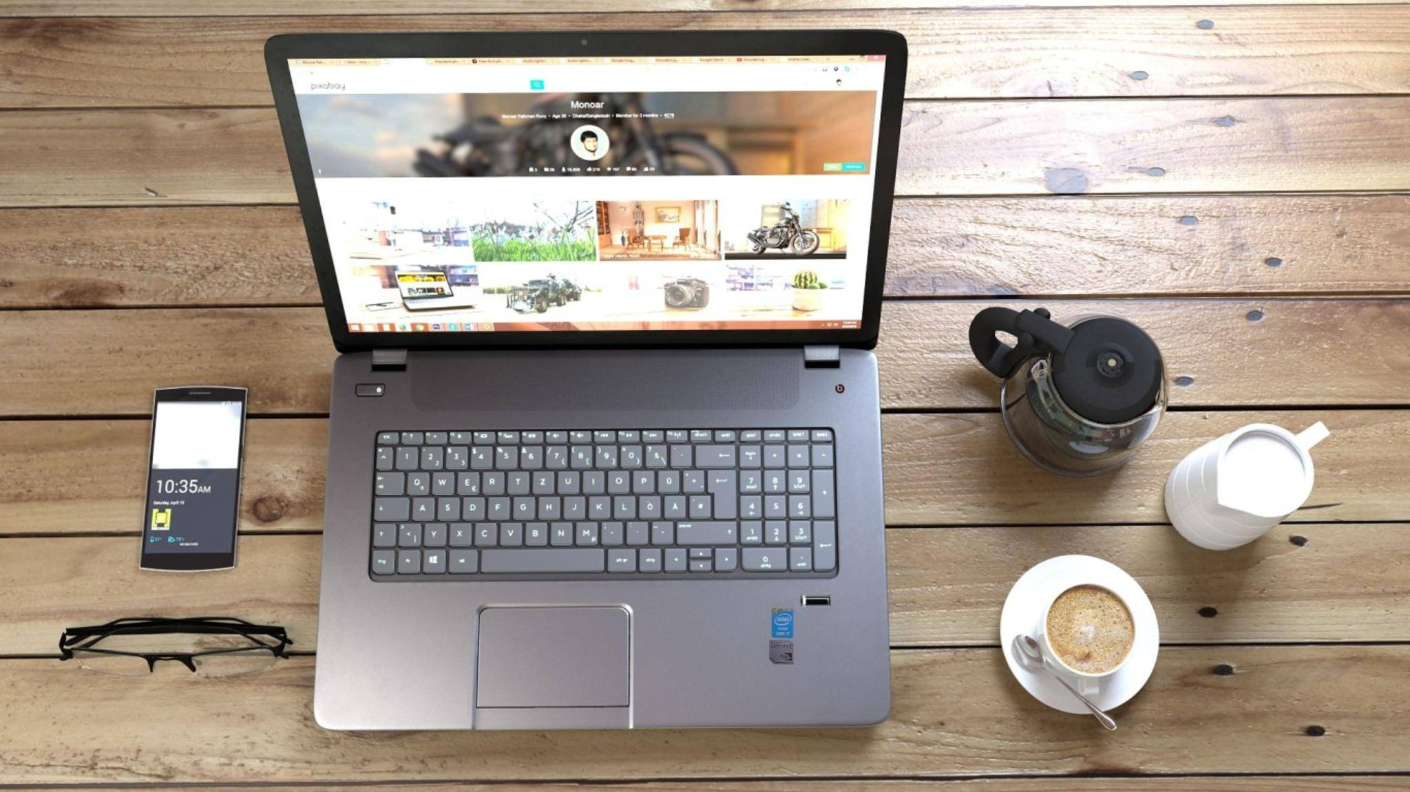 Für die Einrichtung eines PCs solltest Du Zeit und einen Kaffee bereithalten.