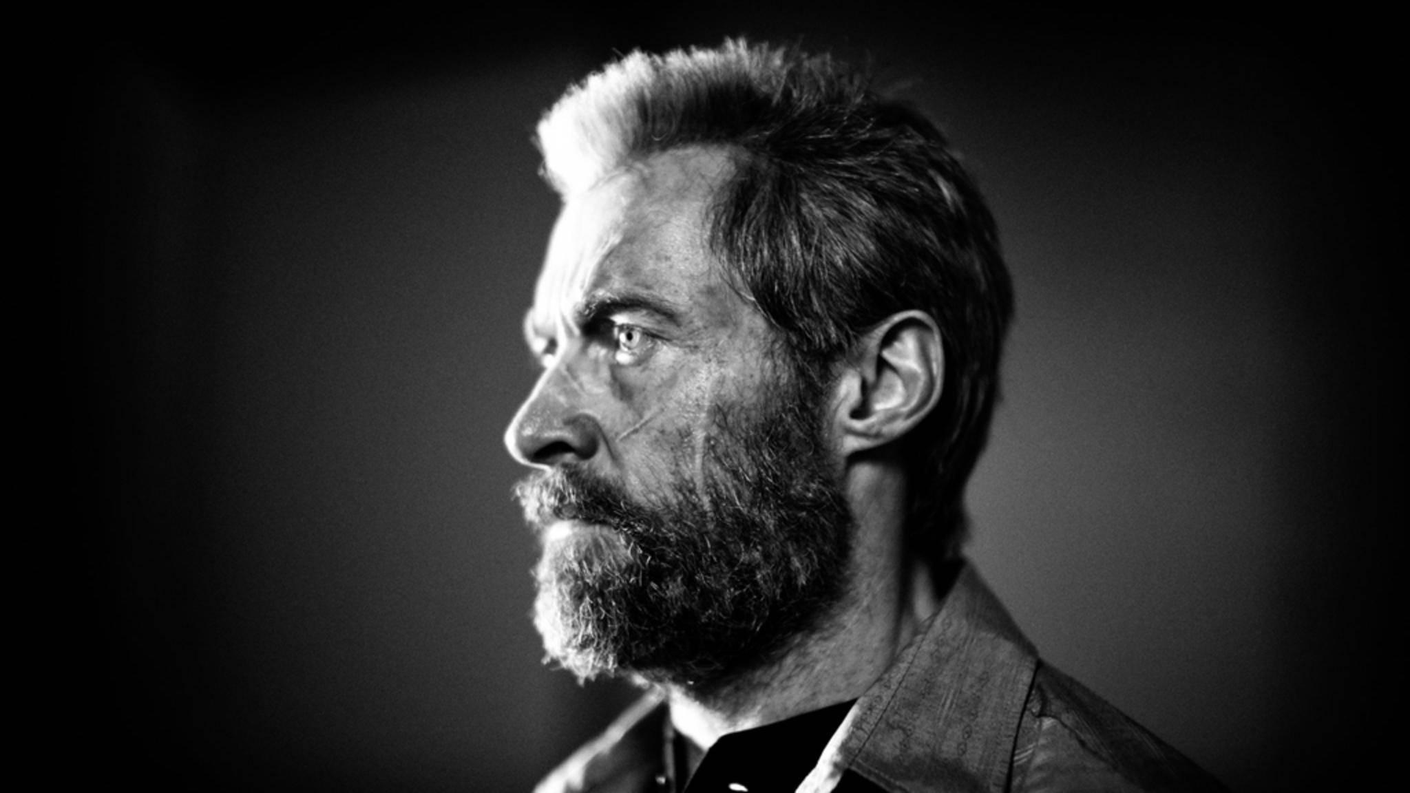 """Die ersten Szenenfotos zu """"Logan"""" waren in atmosphärischem Schwarz-Weiß gehalten."""