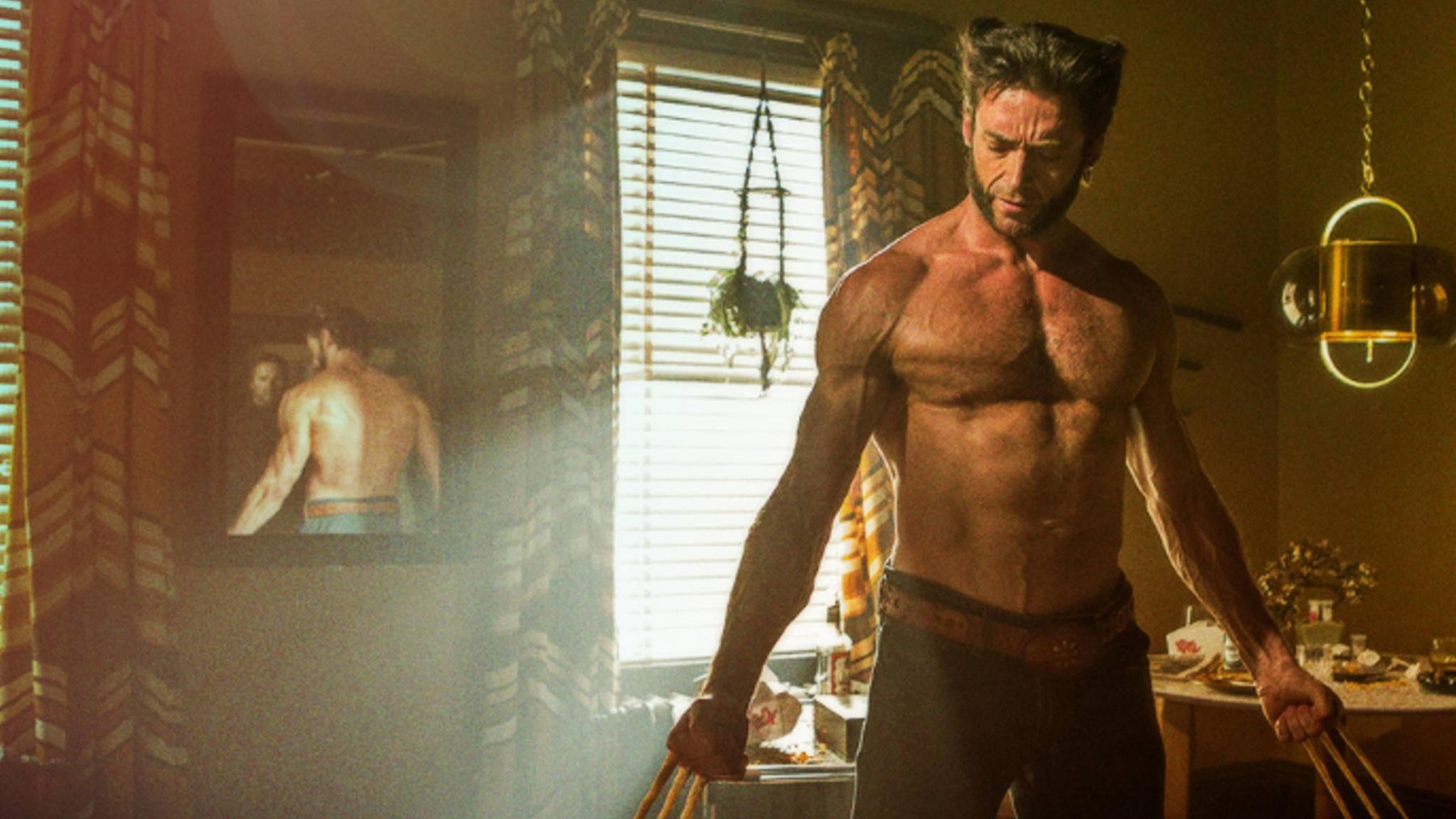 Der Superbody von Hugh Jackman ist ein gutes Stück Arbeit.