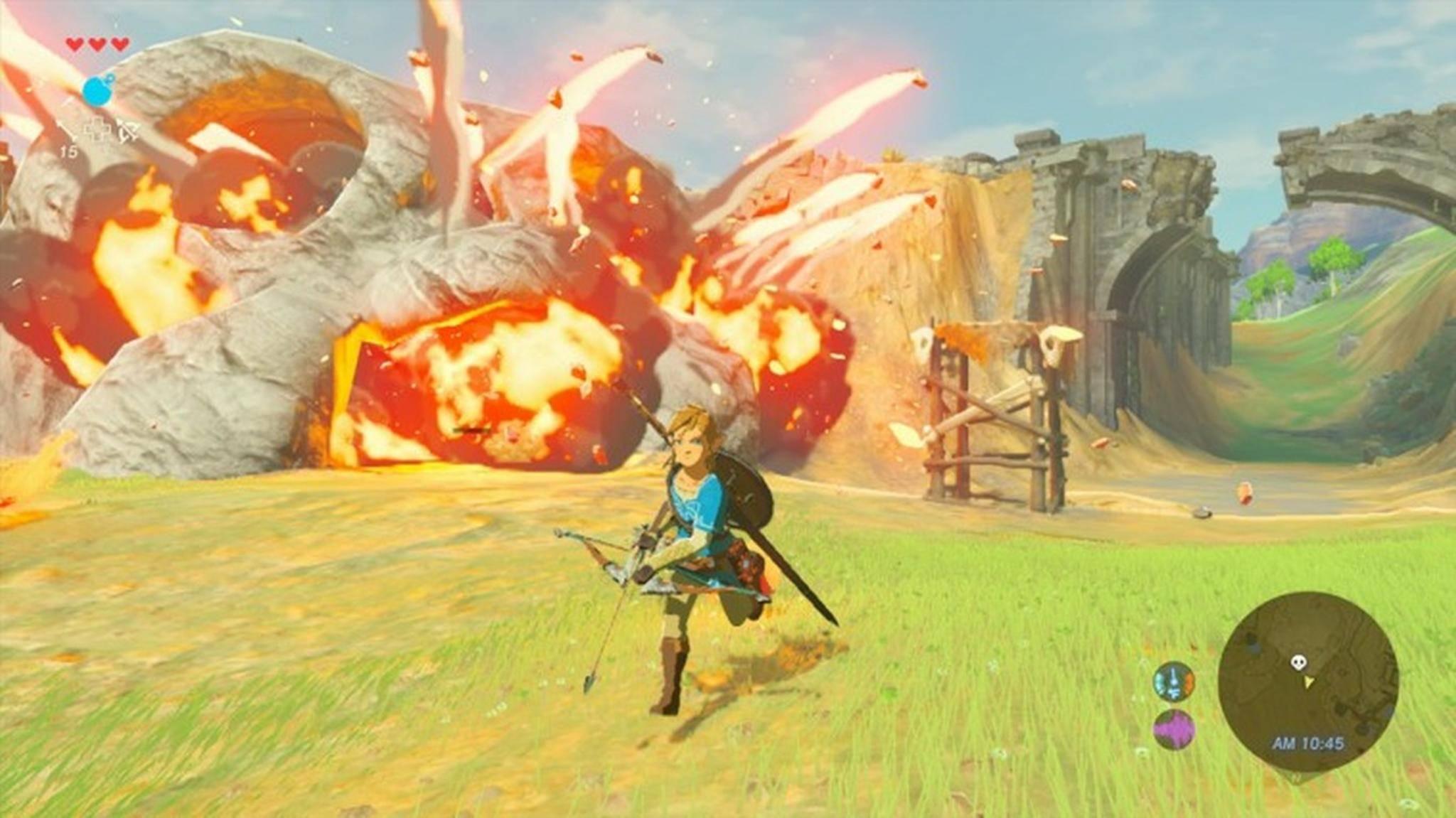 """""""Zelda: Breath of the Wild"""" erscheint auch für Nintendos neue Konsole."""