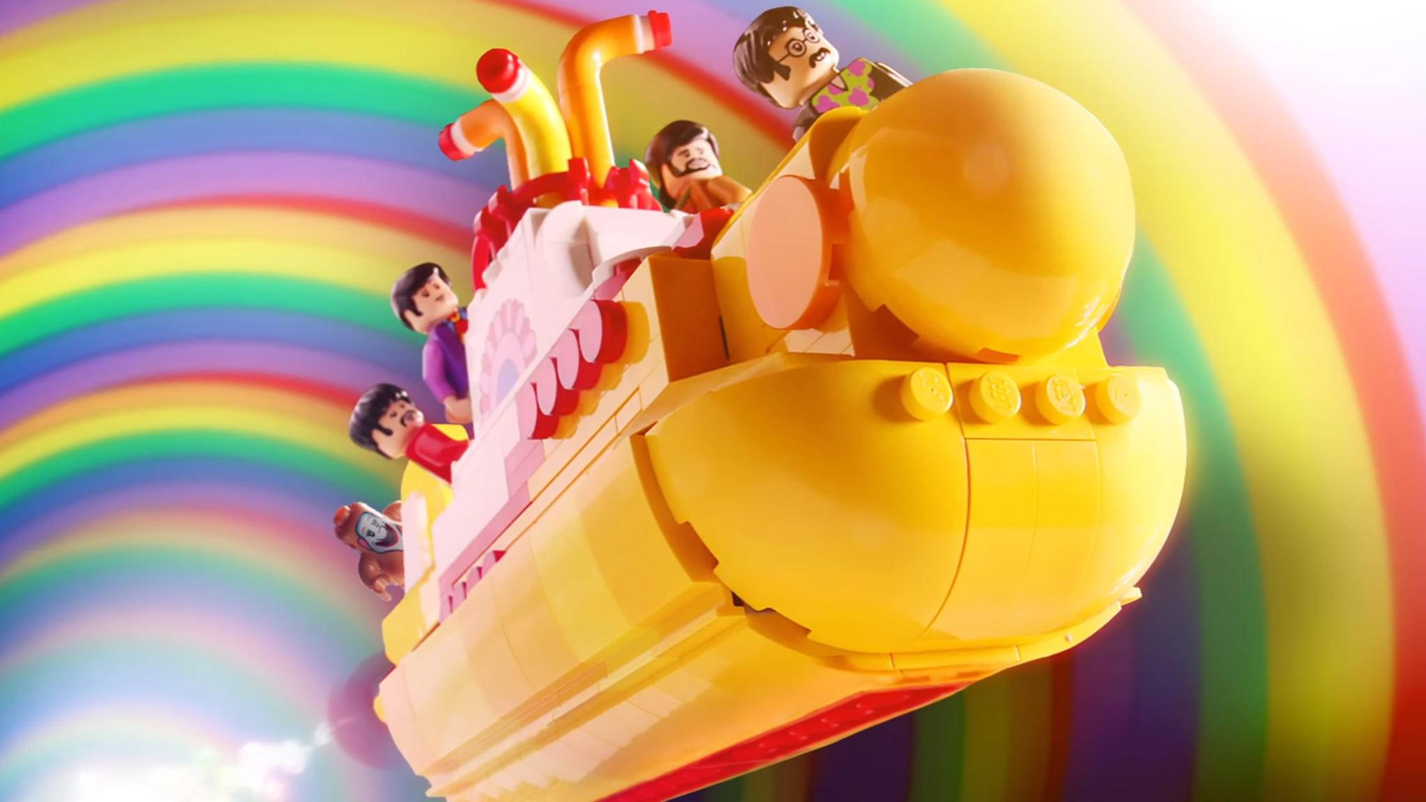 Abtauchen mit den Beatles: Lego macht's möglich.