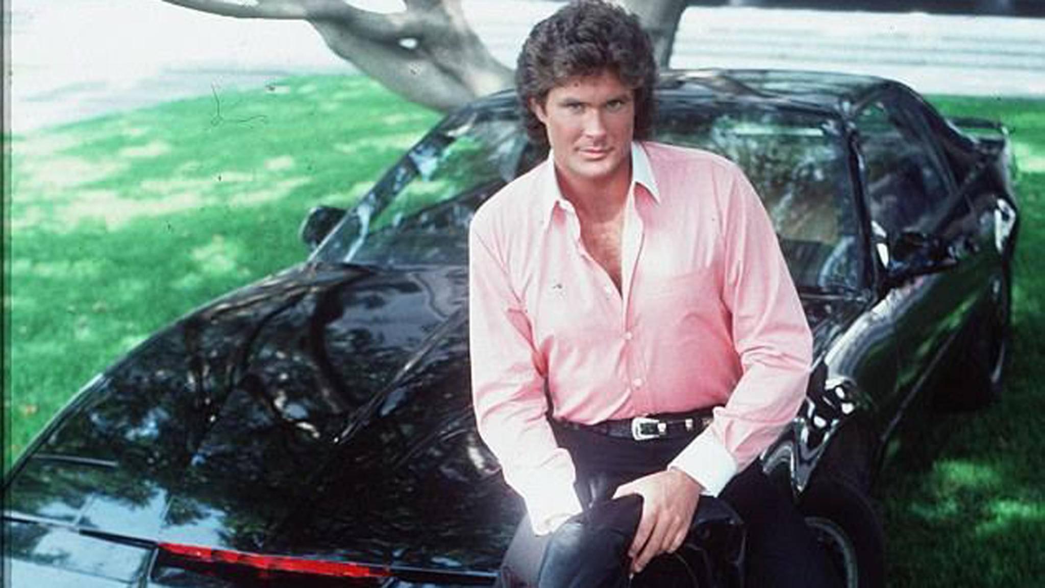 """Mit David Hasselhoff in der Hauptrolle erreichte """"Knight Rider"""" in den 1980ern Kultstatus."""
