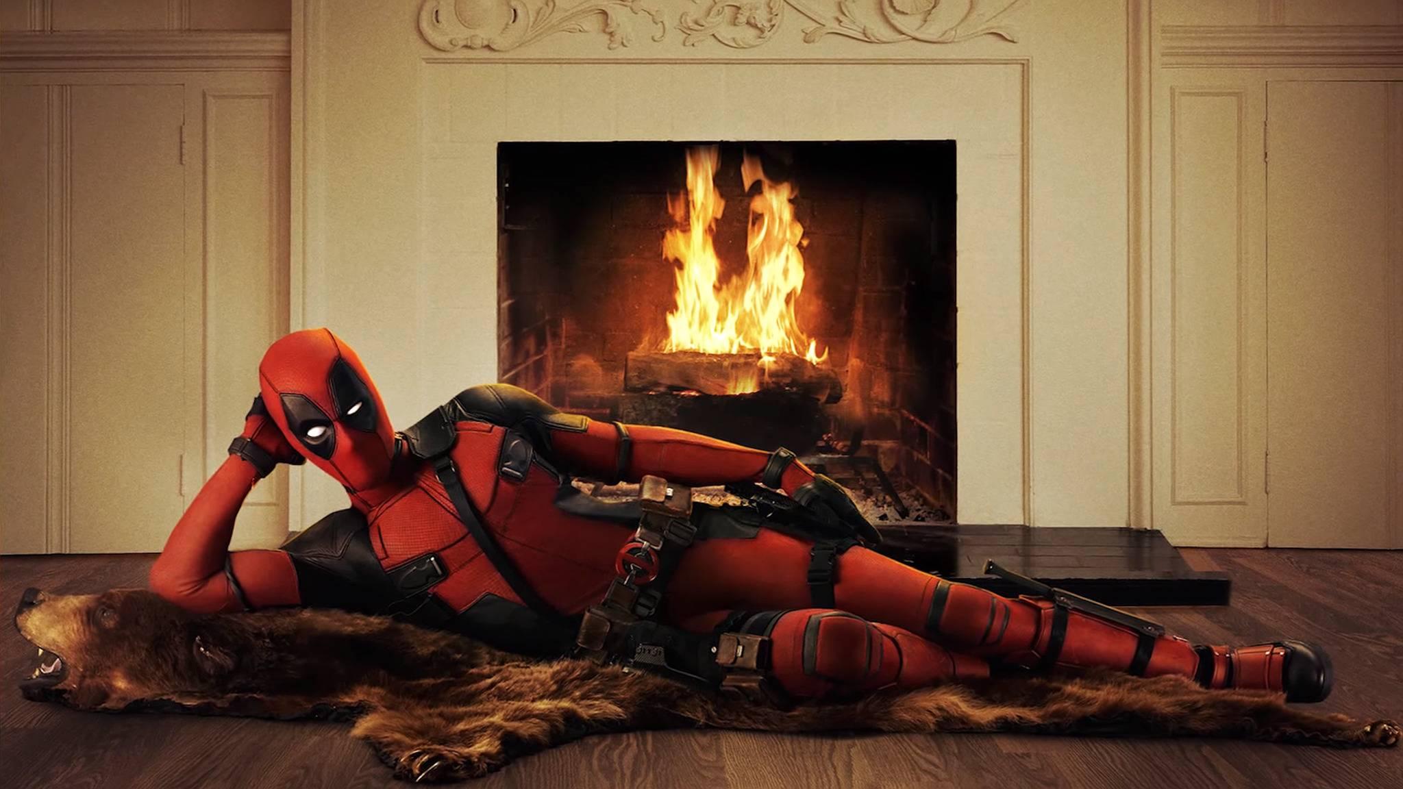 """Macht es euch schon mal gemütlich, pünktlich zu Weihnachten kommt """"Deadpool 2"""" in einer familienfreundlichen Version in die Kinos."""