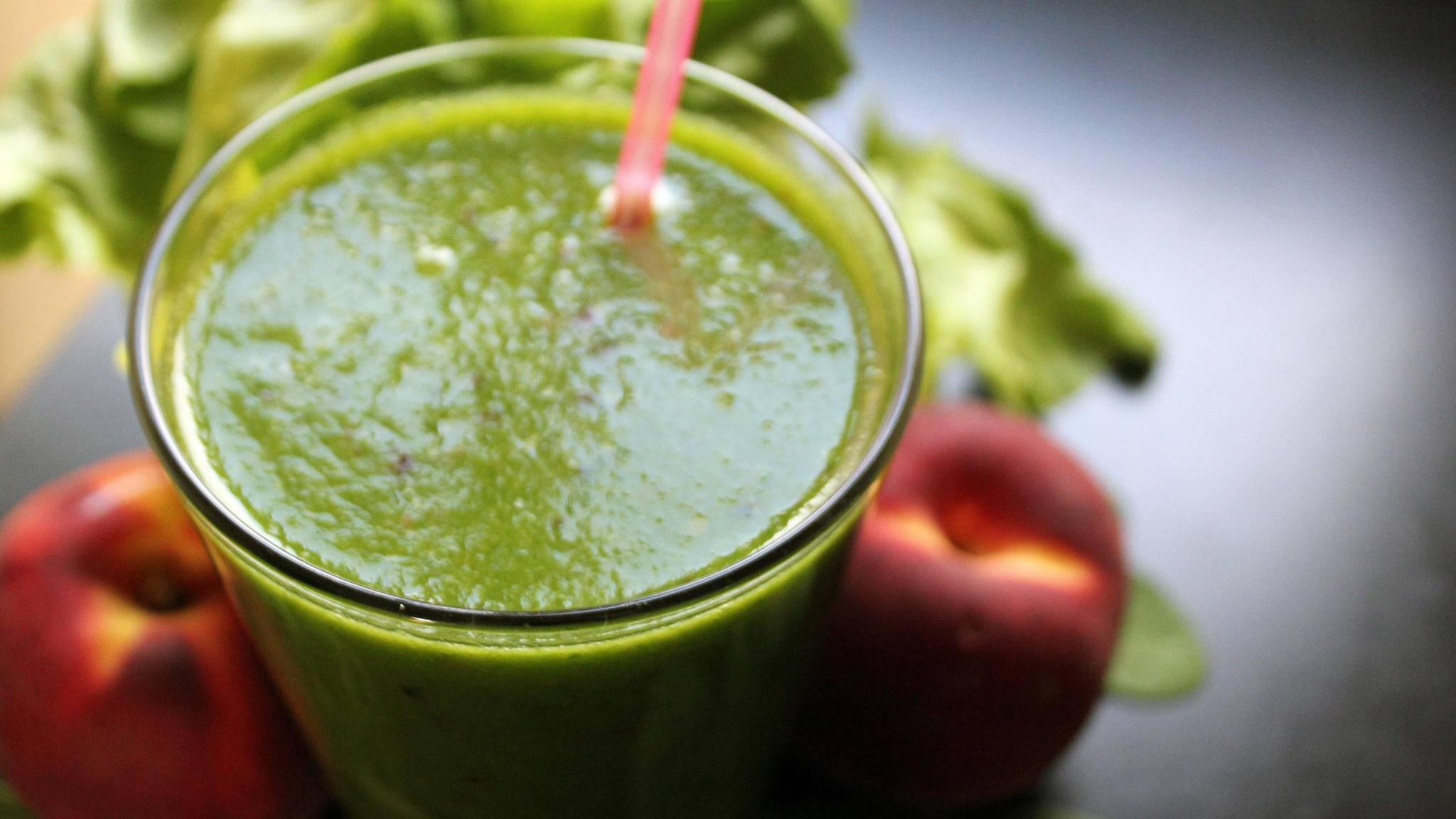 Gesund und ungewöhnlich im Geschmack: Grüne Smoothies sind zurzeit der große Trend.