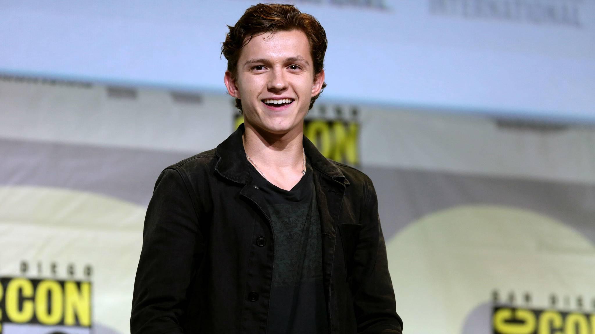 Tom Holland wird in den kommenden Filmen die Rolle des Spider-Man übernehmen.