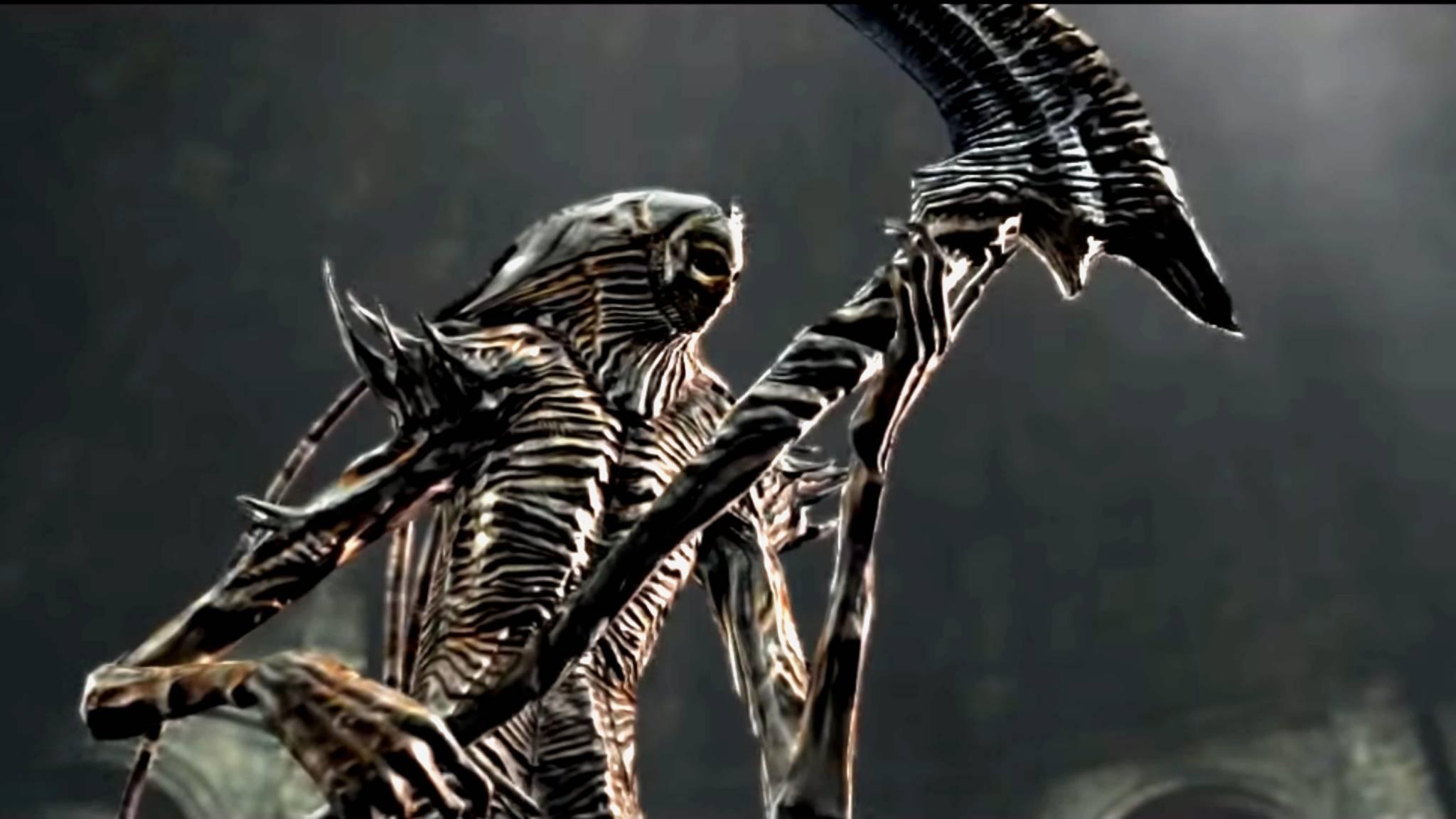 """Bei Nashandra aus """"Dark Souls II"""" hat man ohne Fernkampfwaffen keine Chance."""