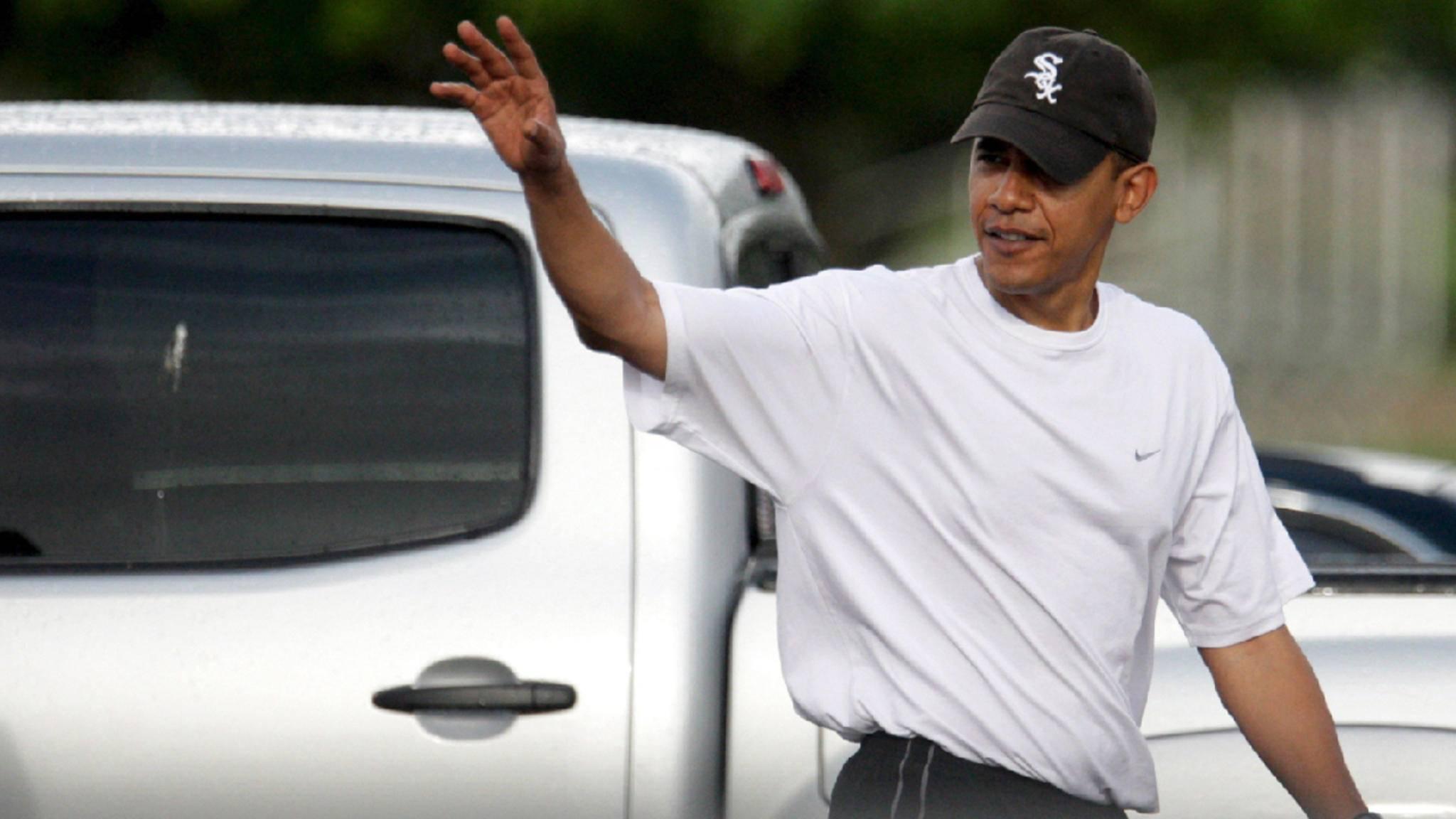 Sportlich: Barack Obama lässt uns an seiner Workout-Playlist teilhaben.