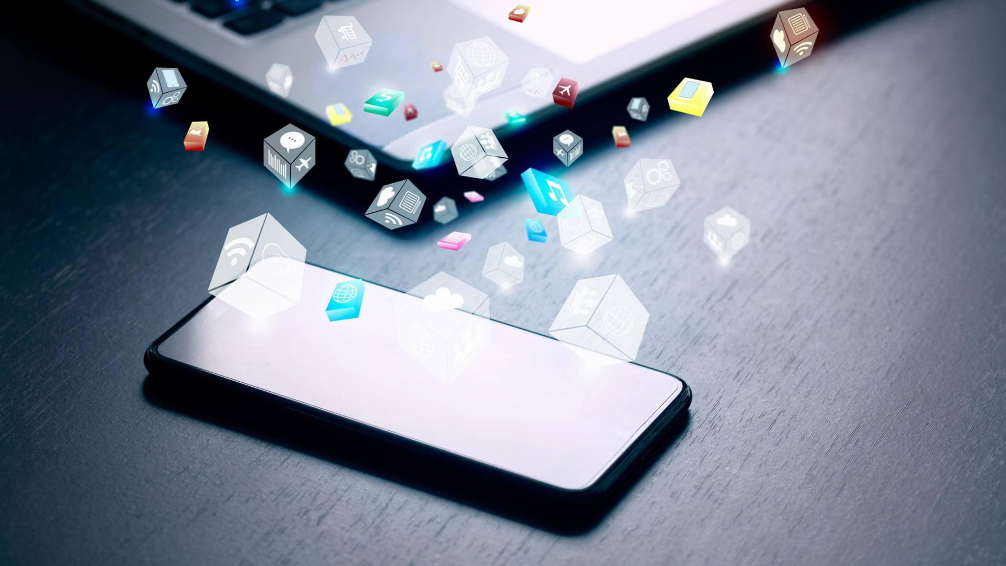 Wird Dein iCloud-Speicher knapp, kannst Du ihn problemlos erweitern.