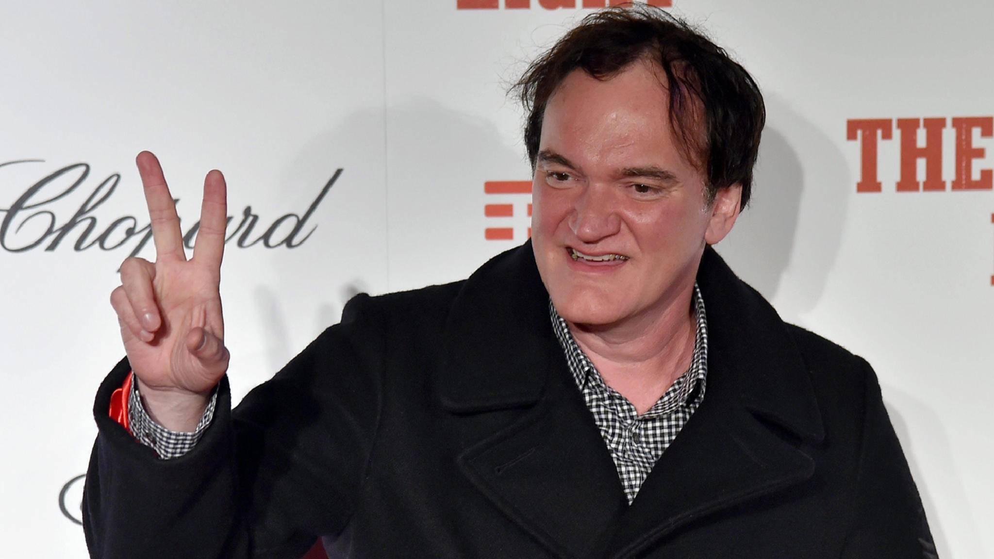 Für Quentin Tarantino ist der Ruhestand schon absehbar.