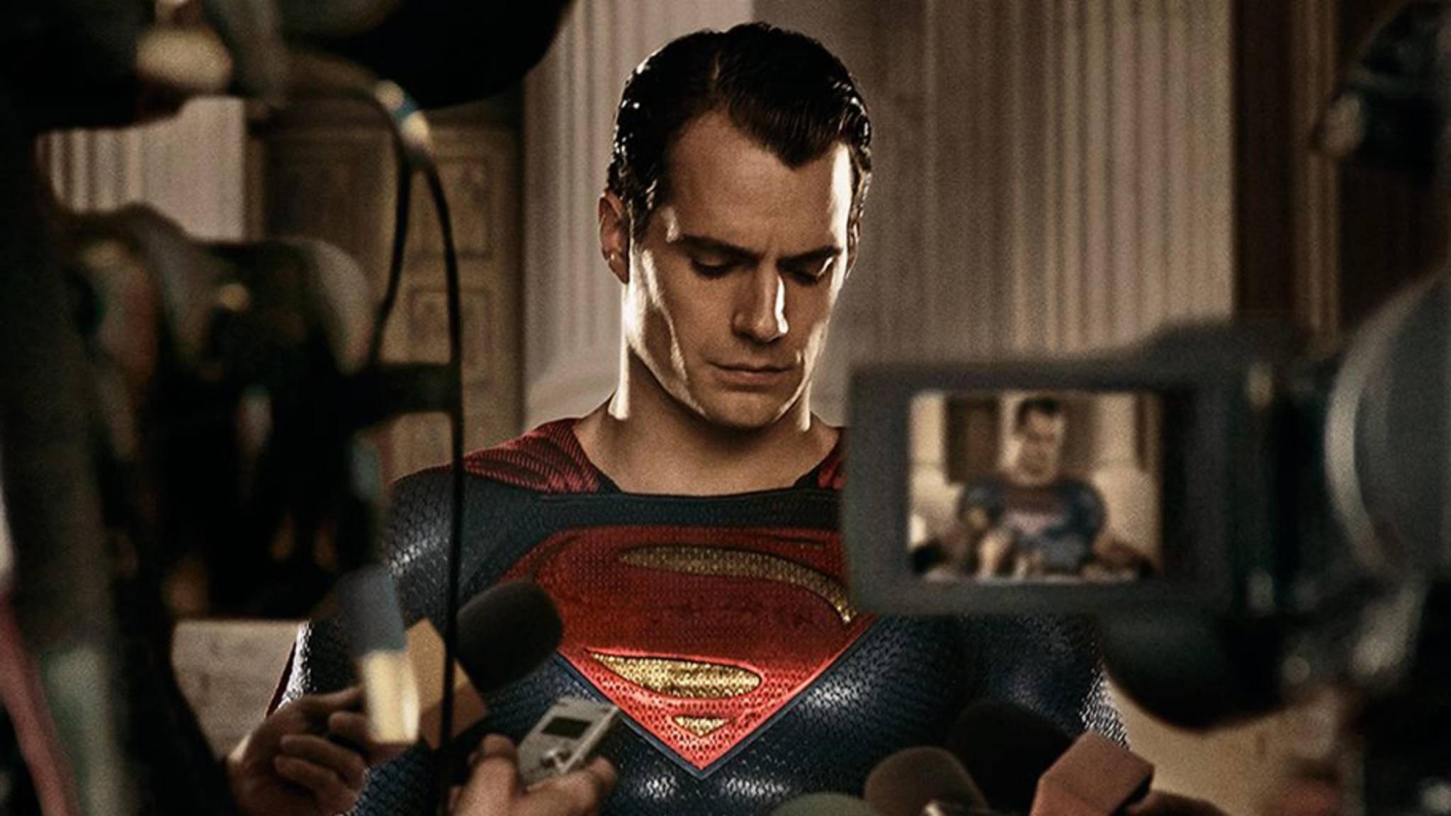 Superman ist eher der schweigsame Typ.