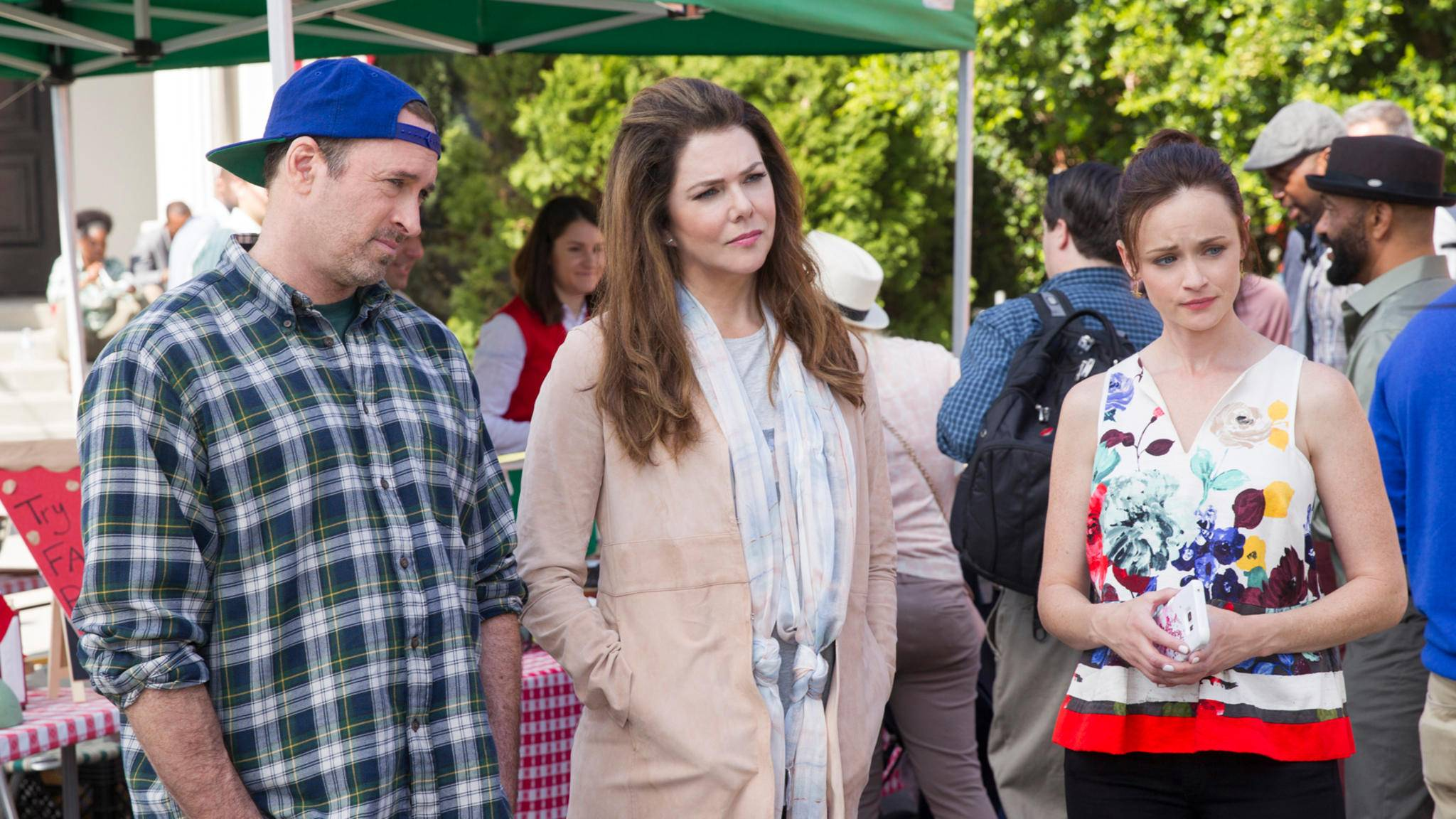 Dass Luke, Lorelai und Rory noch einmal zusammenkommen, haben Fans einem ganz bestimmten Seriendarsteller zu verdanken.