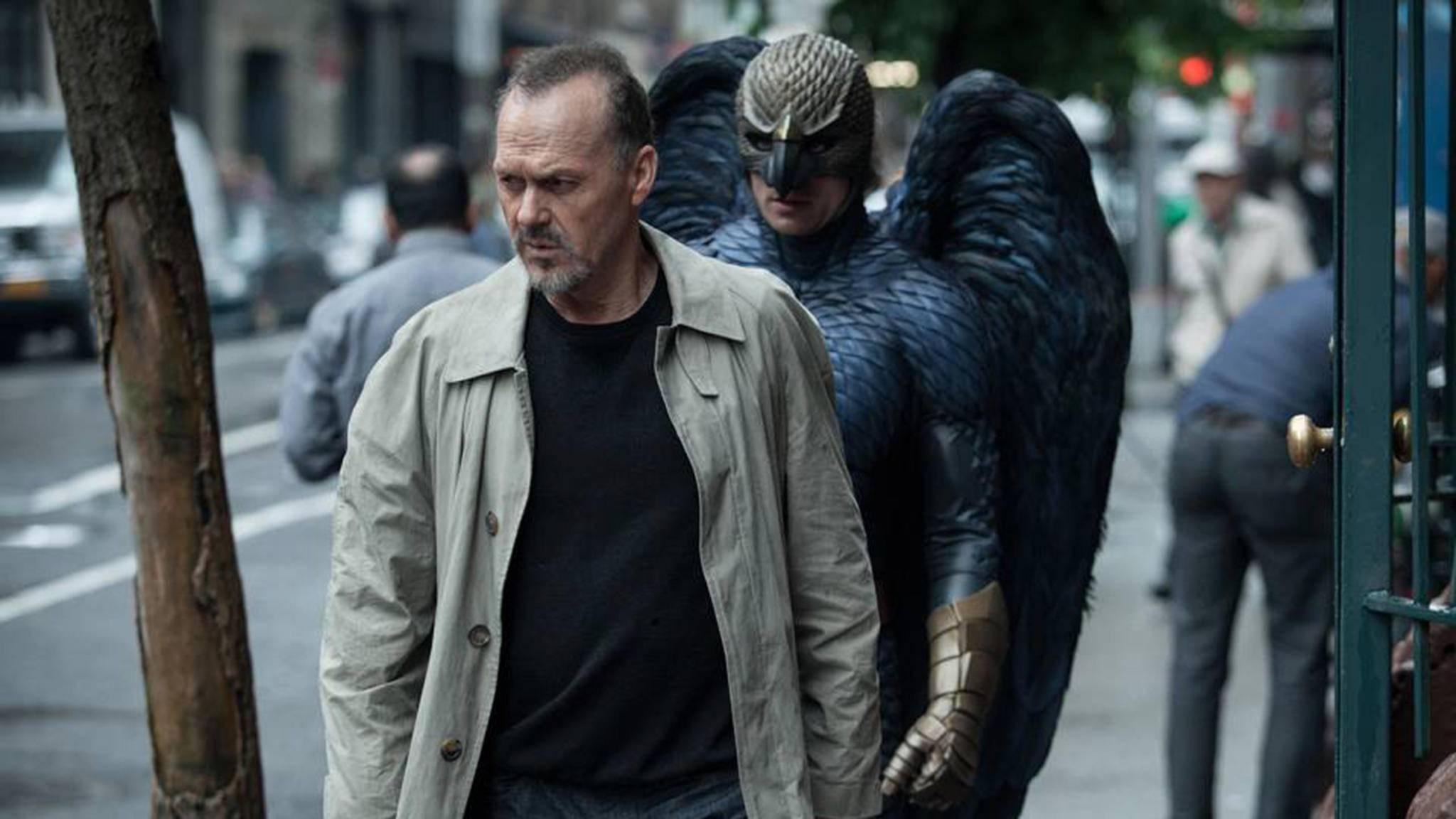 """Gute Referenzen für die Rolle als Vulture: Michael Keaton spielte schon in """"Birdman"""" einen Superhelden mit Federkleid."""