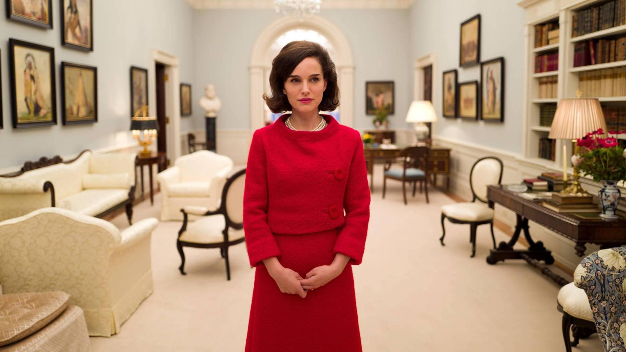 """Verblüffende Ähnlichkeit: Natalie Portman als Jaqueline Kennedy in """"Jackie""""."""