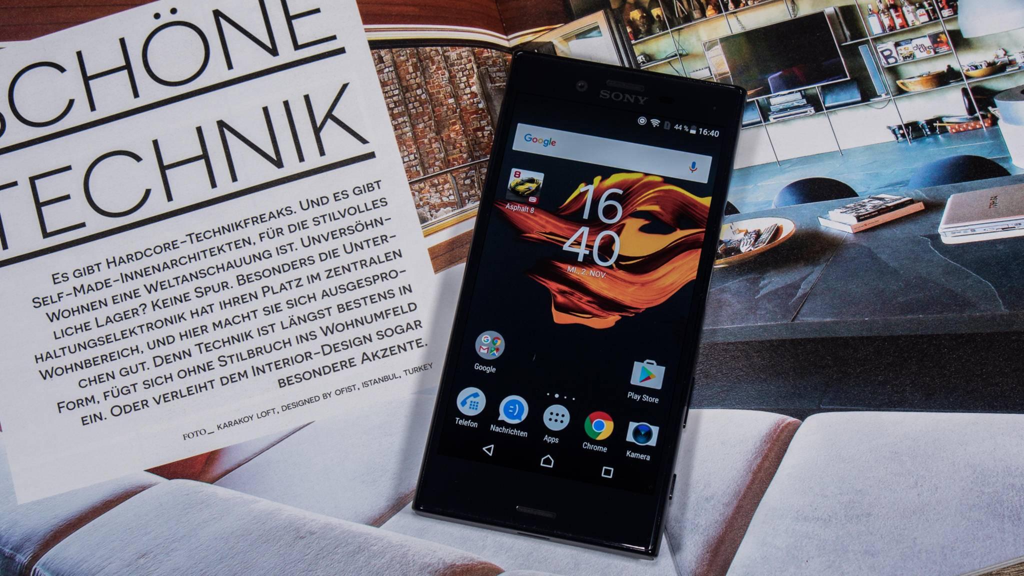 Das Xperia X Compact könnte zu den ersten Smartphones mit Android 7.1.1 gehören.