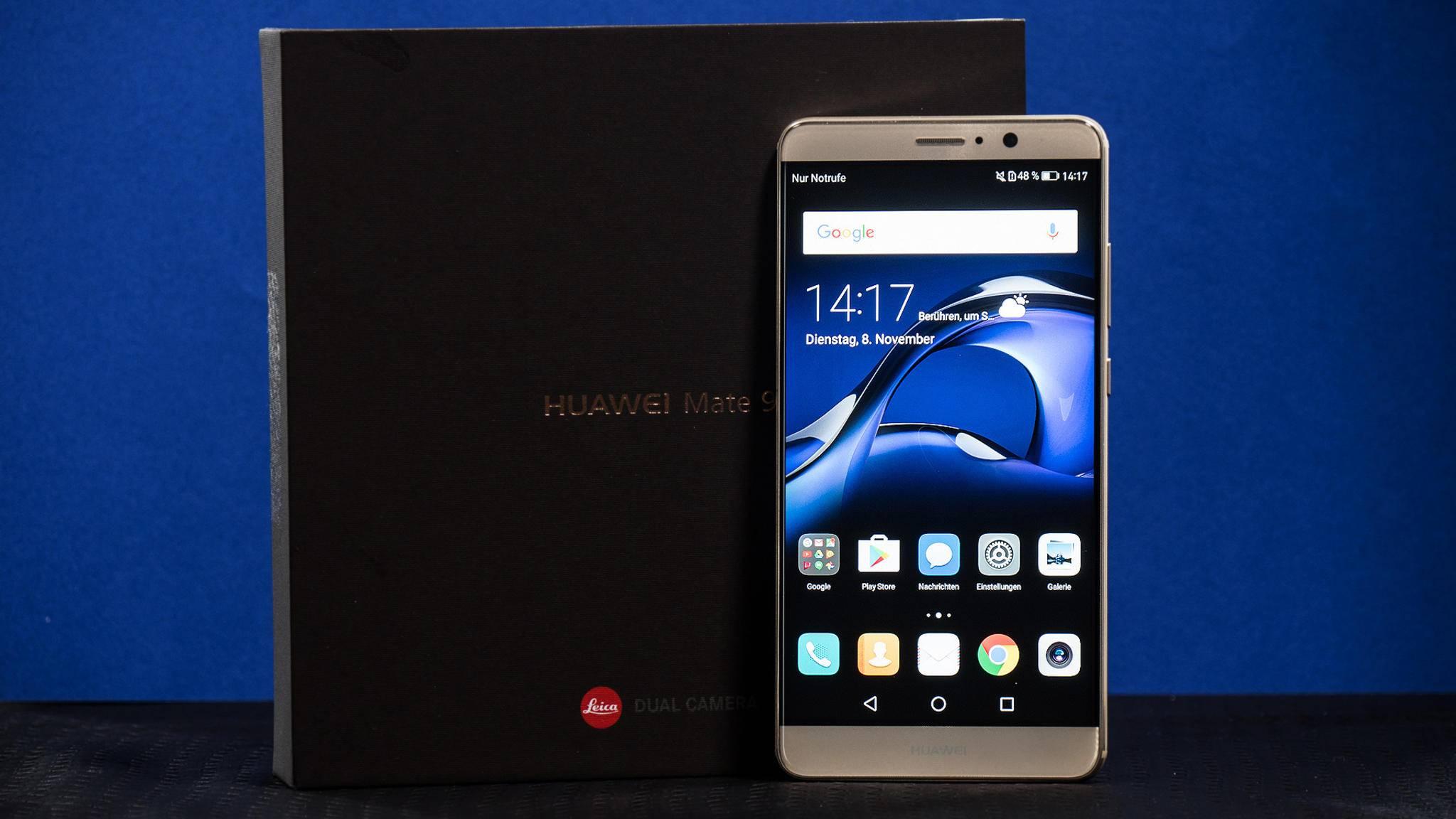 Das Huawei Mate 9 besitzt einige neue Features – kennst Du sie alle?