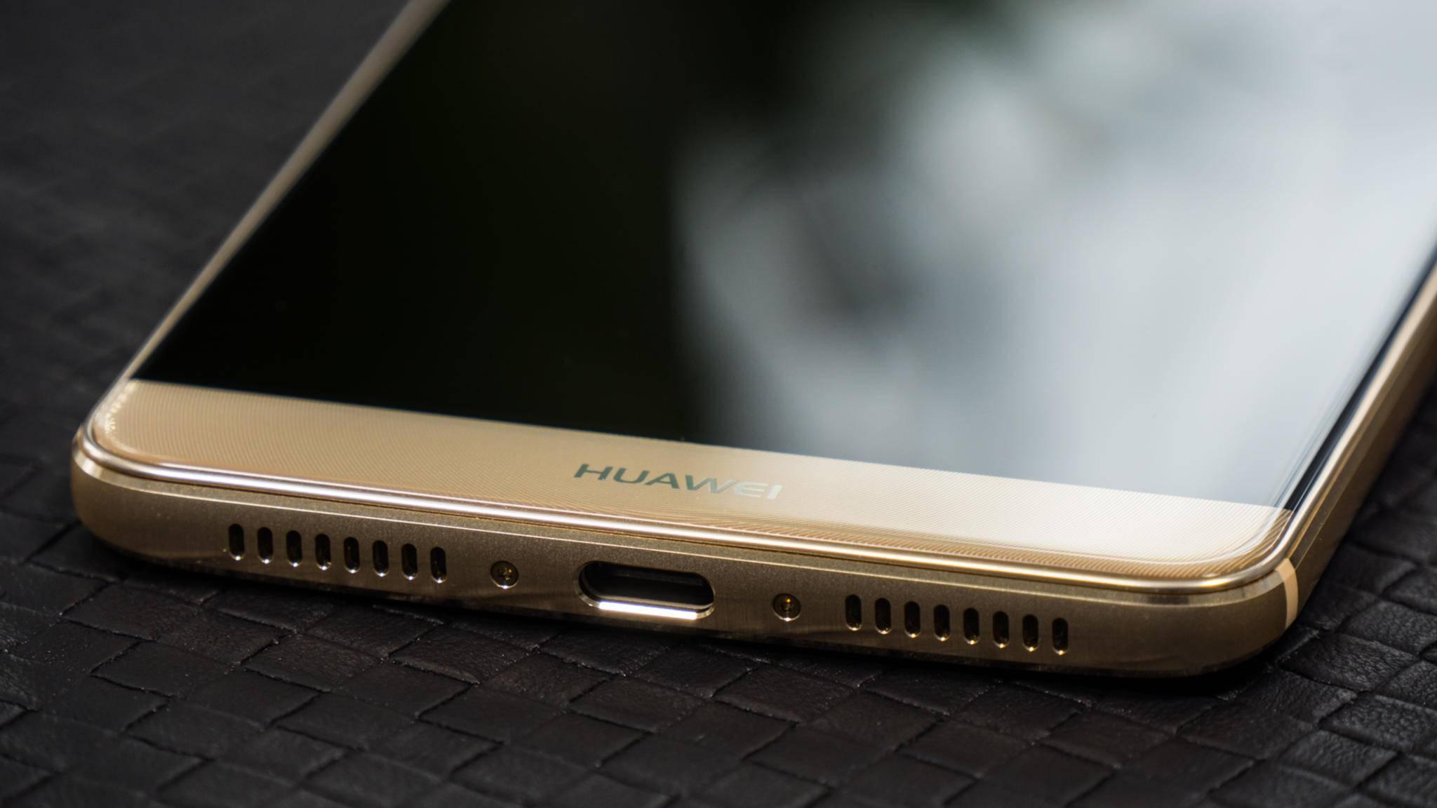 An der Unterseite findet sich ein USB-Typ-C-Port.
