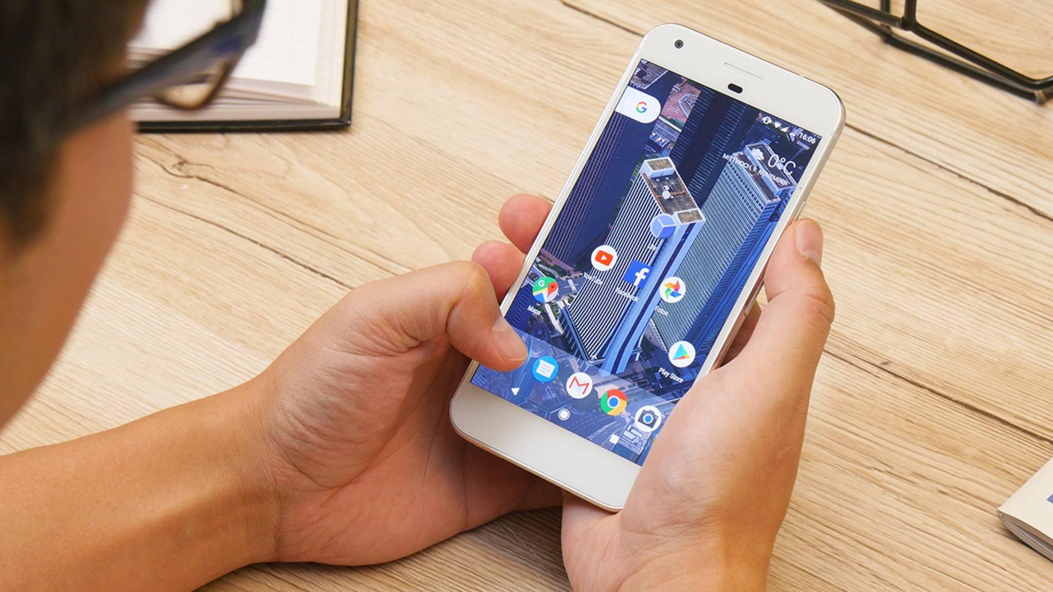Das Google Pixel bekommt zwei neue Features per Software-Update spendiert.