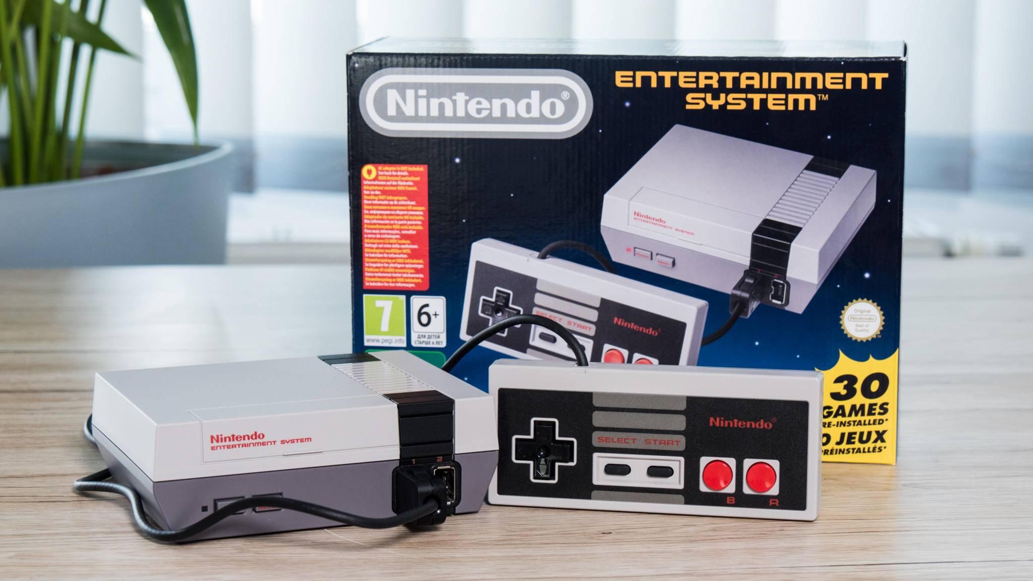 Das NES Classic Mini soll 2018 wieder in den Handel kommen.