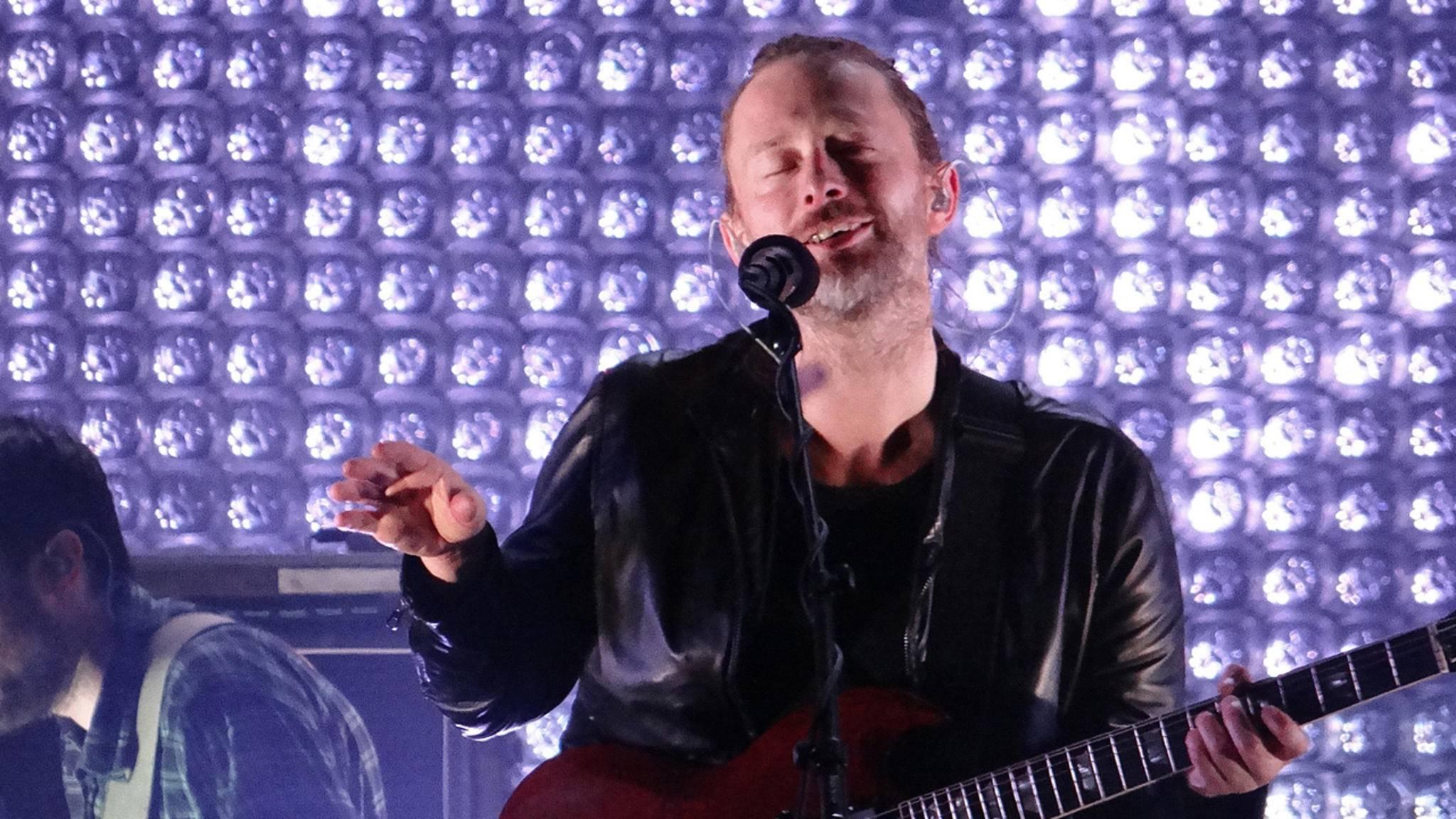 Radiohead sind 2017 wieder unterwegs durch Europa.