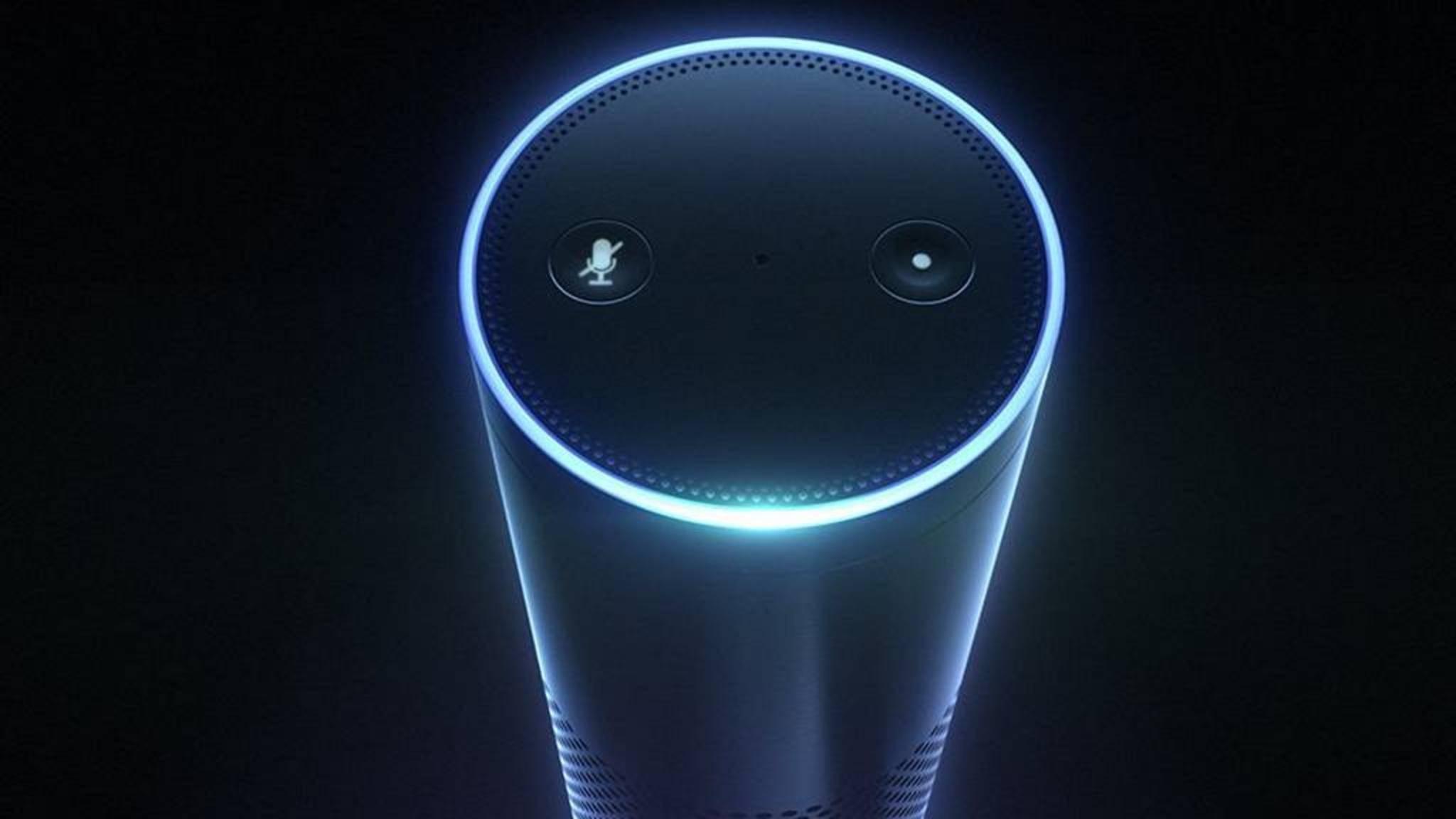 Amazons Echo-Lautsprecher hört mit, um die virtuelle Assistentin Alexa zu steuern. Das könnte Ermittlern bei einem Mordfall zugute kommen.
