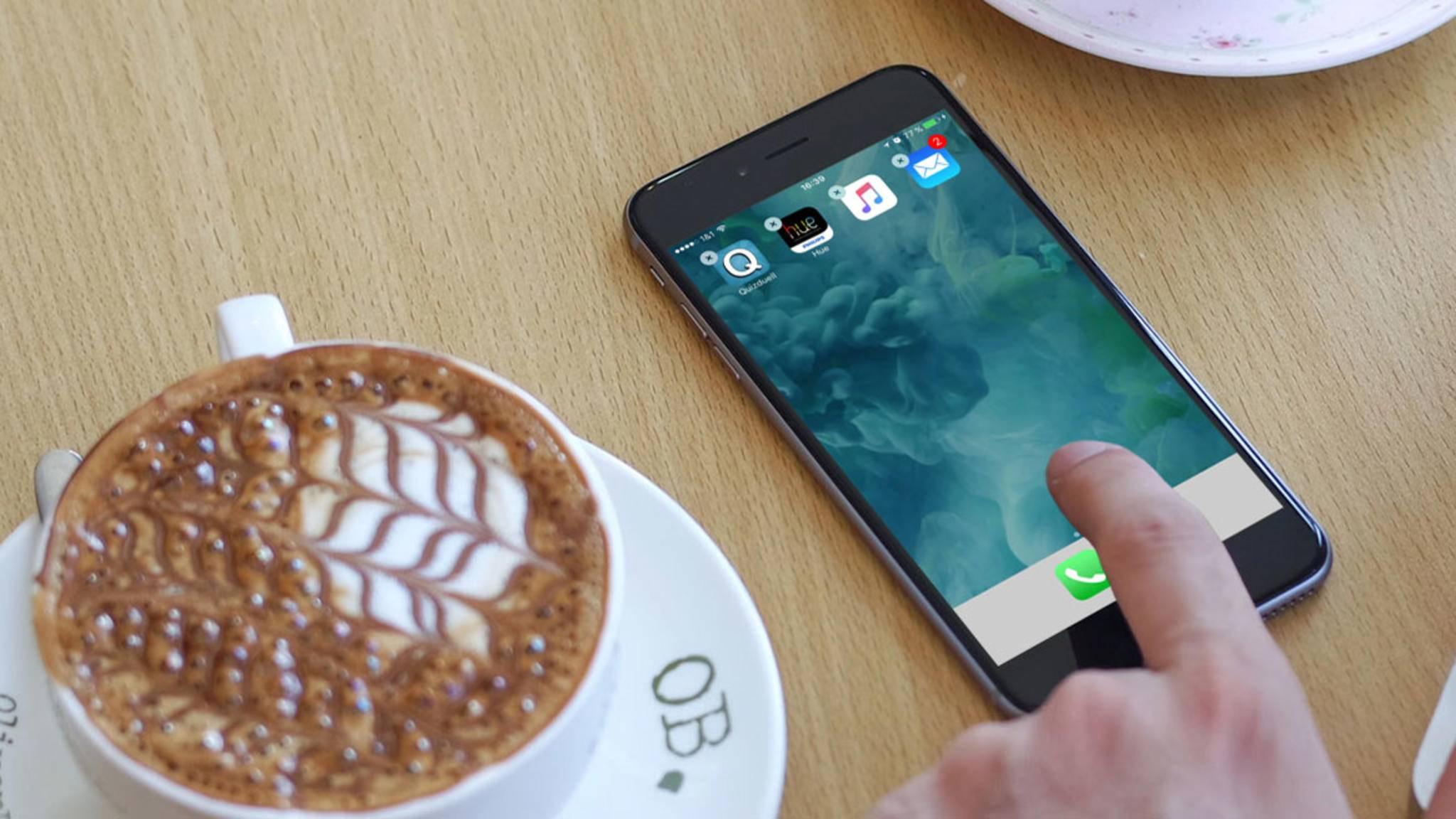 Glitch-Alarm: So entfernst Du App-Bezeichnungen auf dem iPhone.