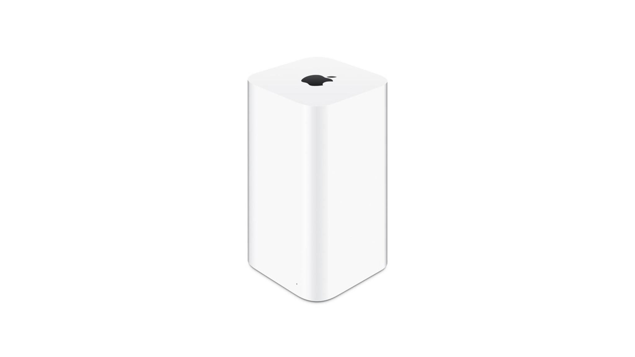 Zwar längst eingestellt, aber für den Verkauf noch gut genug: Apples AirPort-Produkte.
