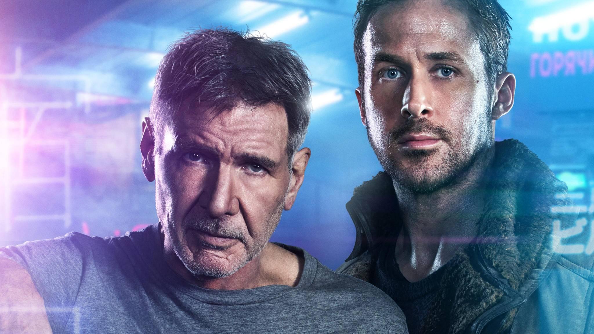 """Harrison Ford und Ryan Gosling werden in """"Blade Runner 2049"""" wohl jede Menge Zeit haben."""