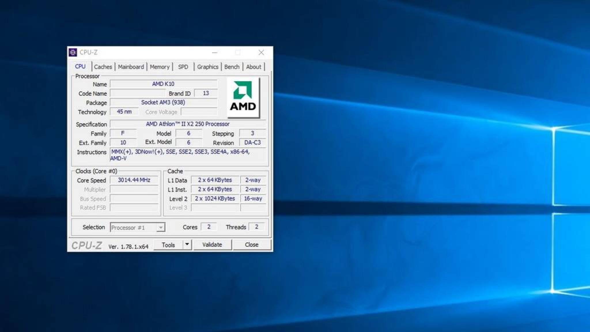CPU-Z zeigt Dir an, was im PC wirklich drin steckt.