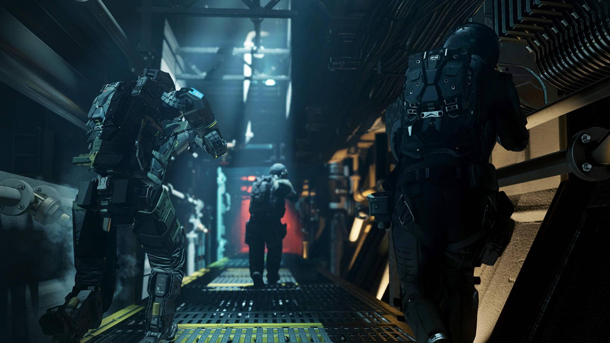 """""""Call of Duty: Infinite Warfare"""" war bei etlichen Spielern aufgrund des futuristischen Settings nicht sehr beliebt."""