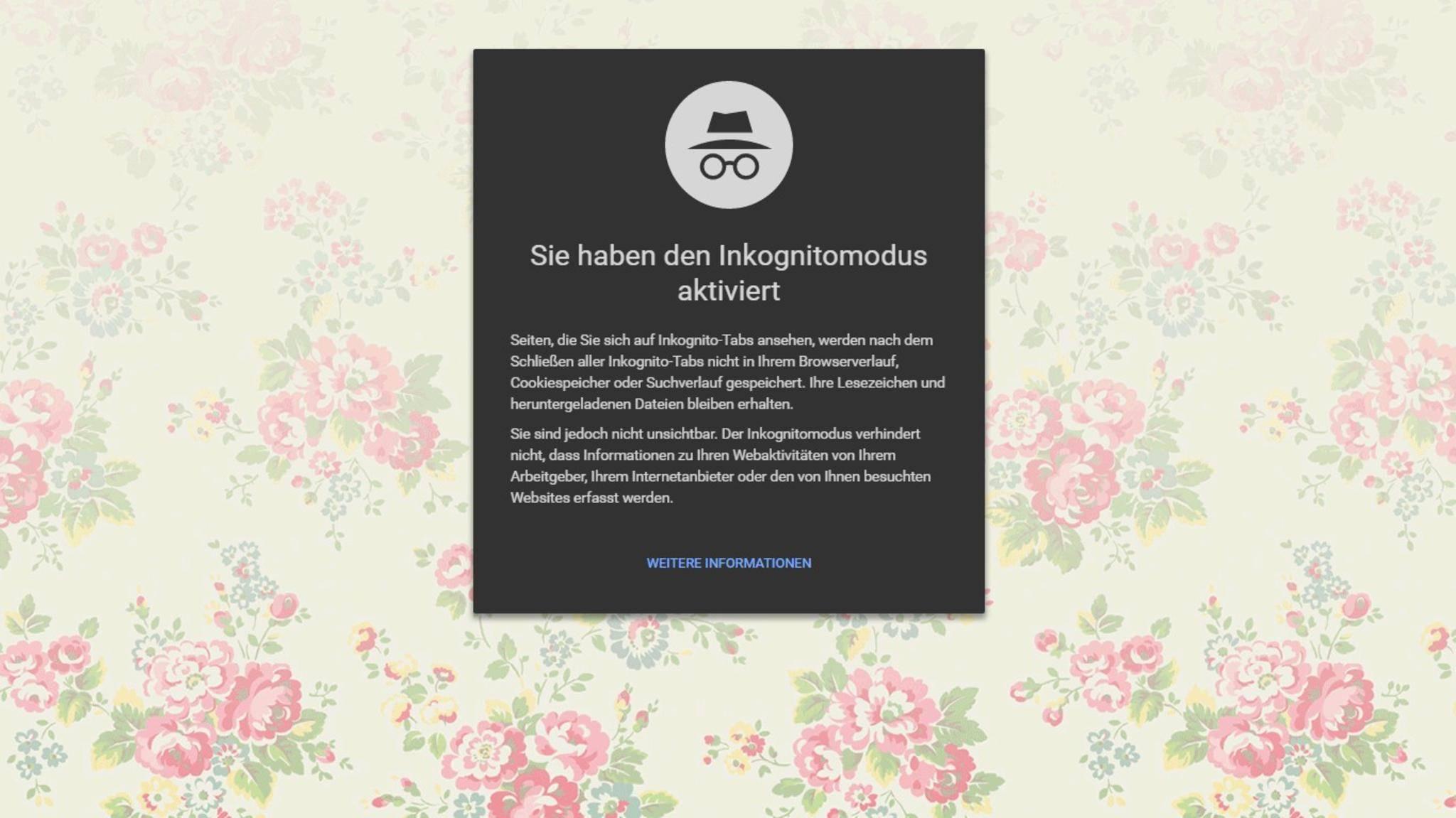 Mit einem Geheimbefehl kannst Du Chrome stets im Inkognito-Modus öffnen.