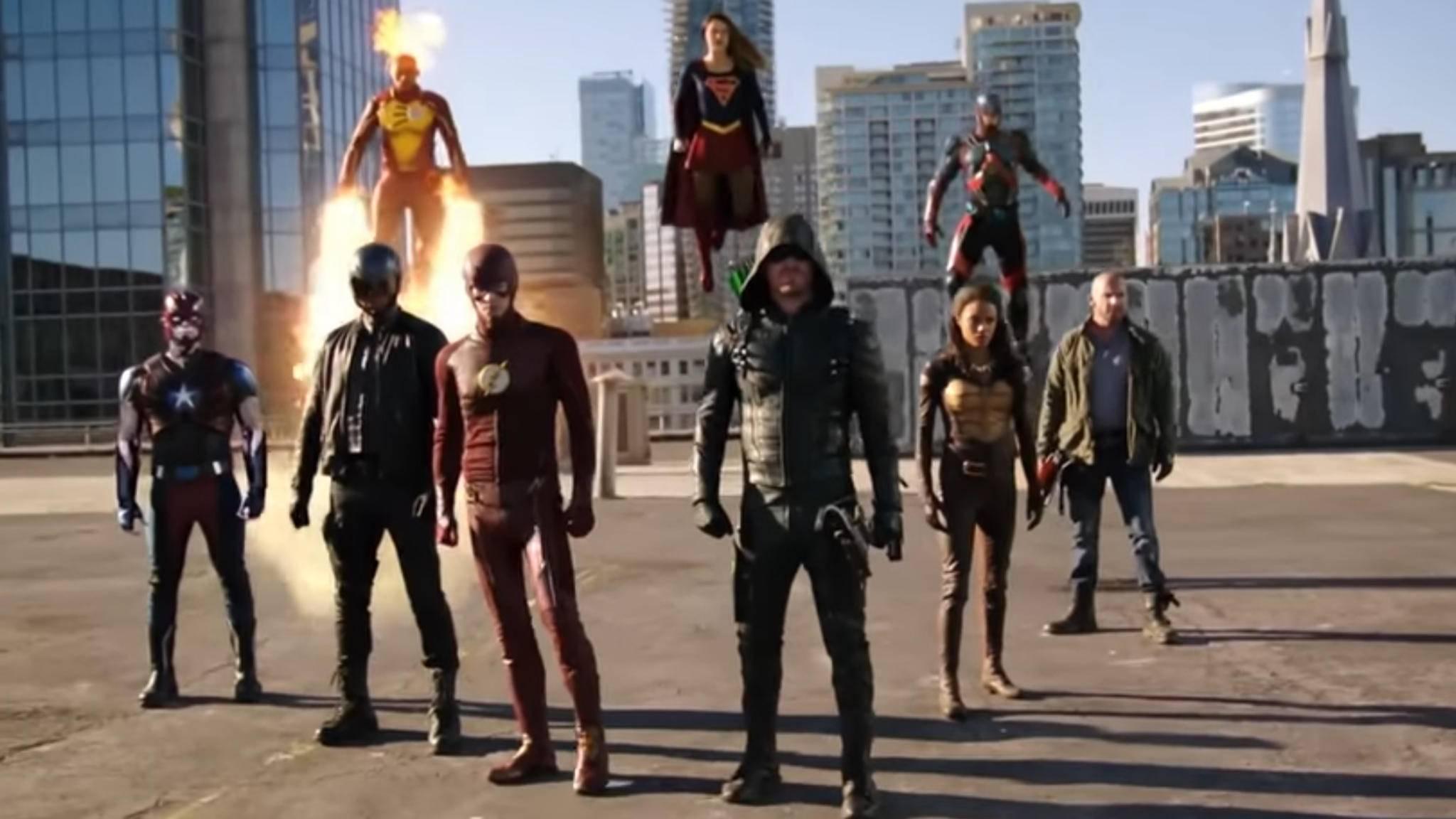 Arrow, Flash, Supergirl und die Legends of Tomorrow bekommen offenbar ein weiteres Mega-Crossover.
