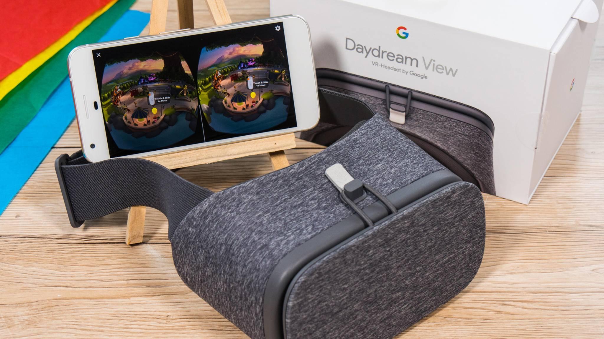 Die Daydream View ist die erste VR-Brille für Googles Daydream.