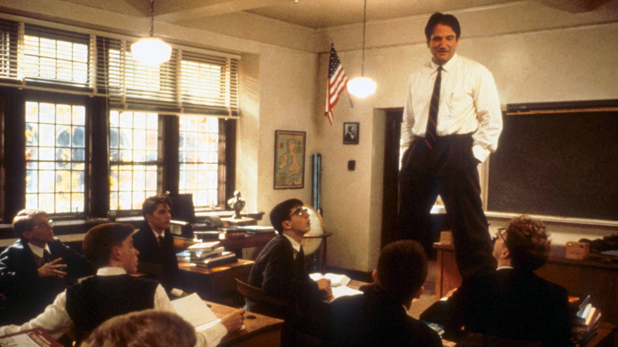 """""""O Captain! Mein Captain!"""": Dieser Spruch machte Robin Williams unsterblich."""