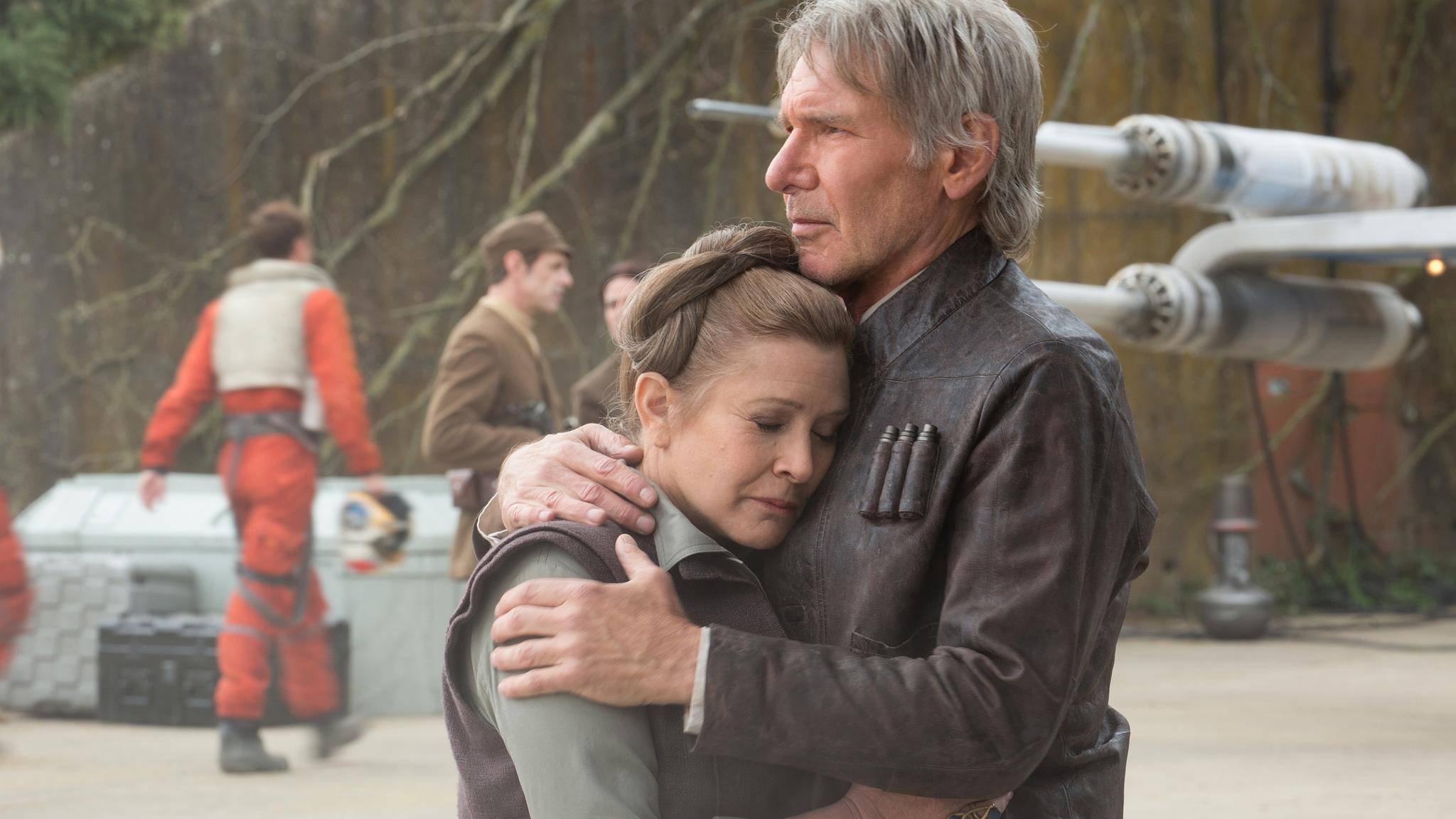 """Wie wird der Tod von Carrie Fisher in """"Star Wars 9"""" wohl verarbeitet?"""
