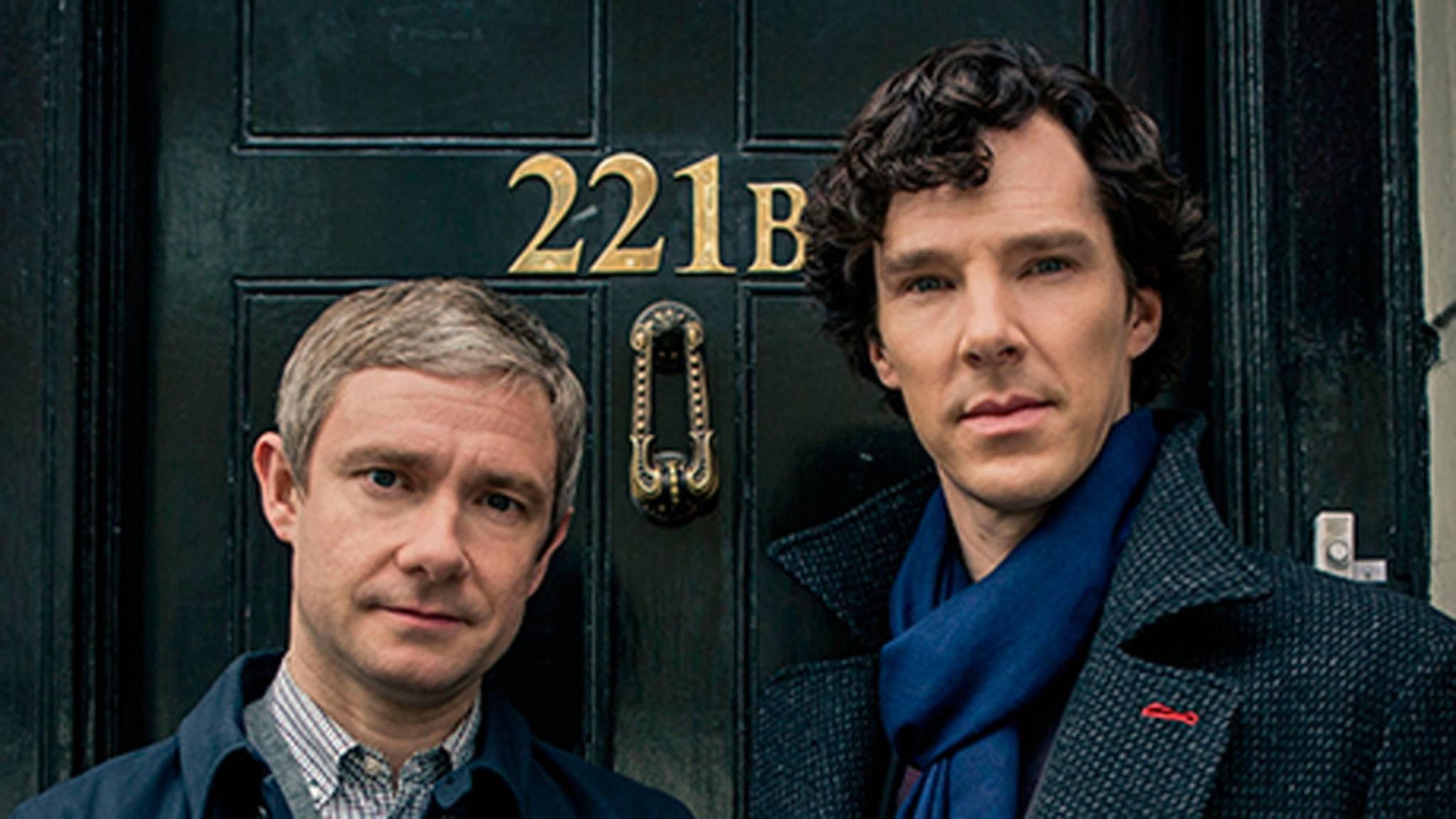 Watson und Sherlock werden durch den Kakao gezogen.