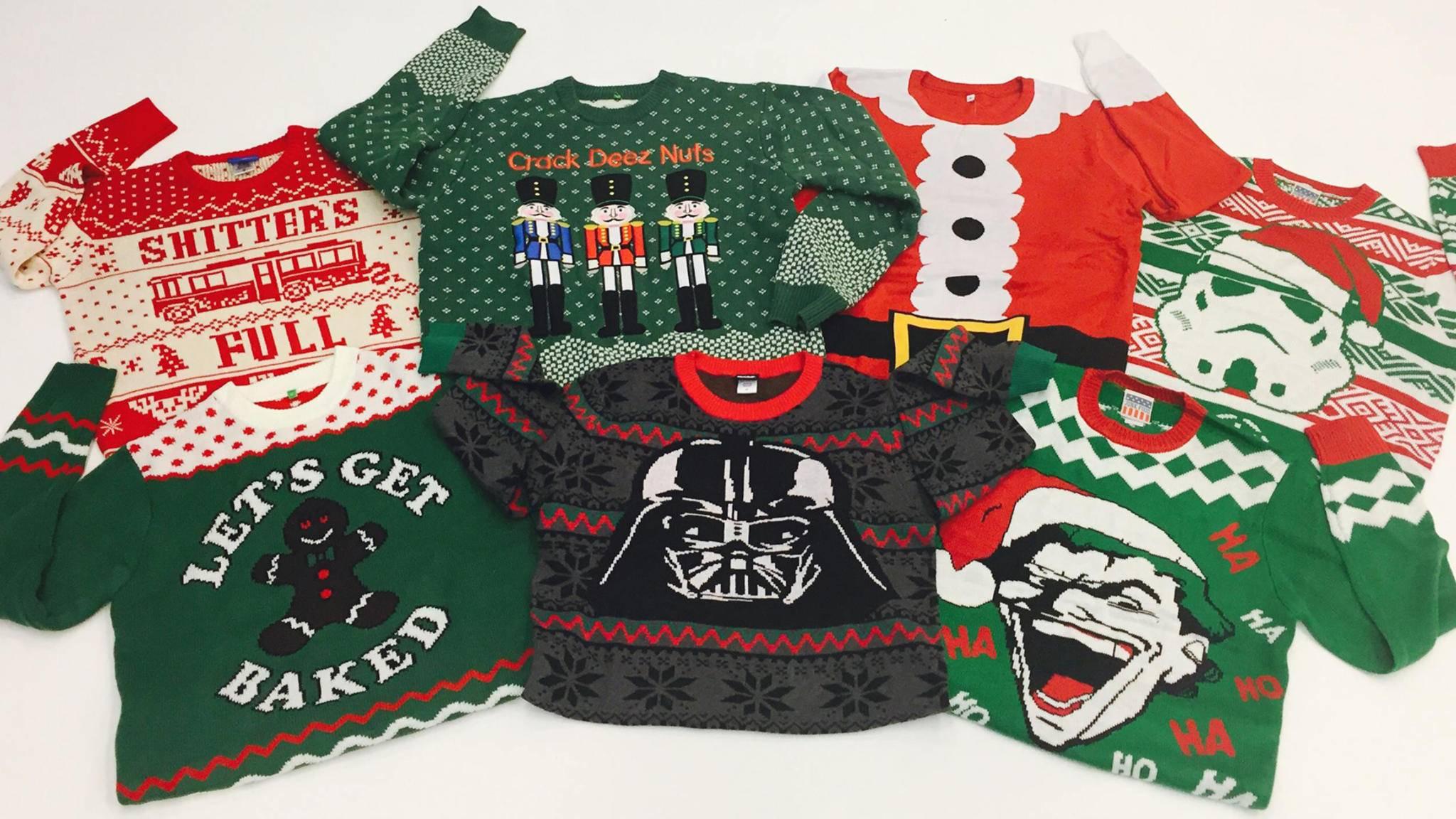 Diese Weihnachtspullover sind zum Weglaufen!