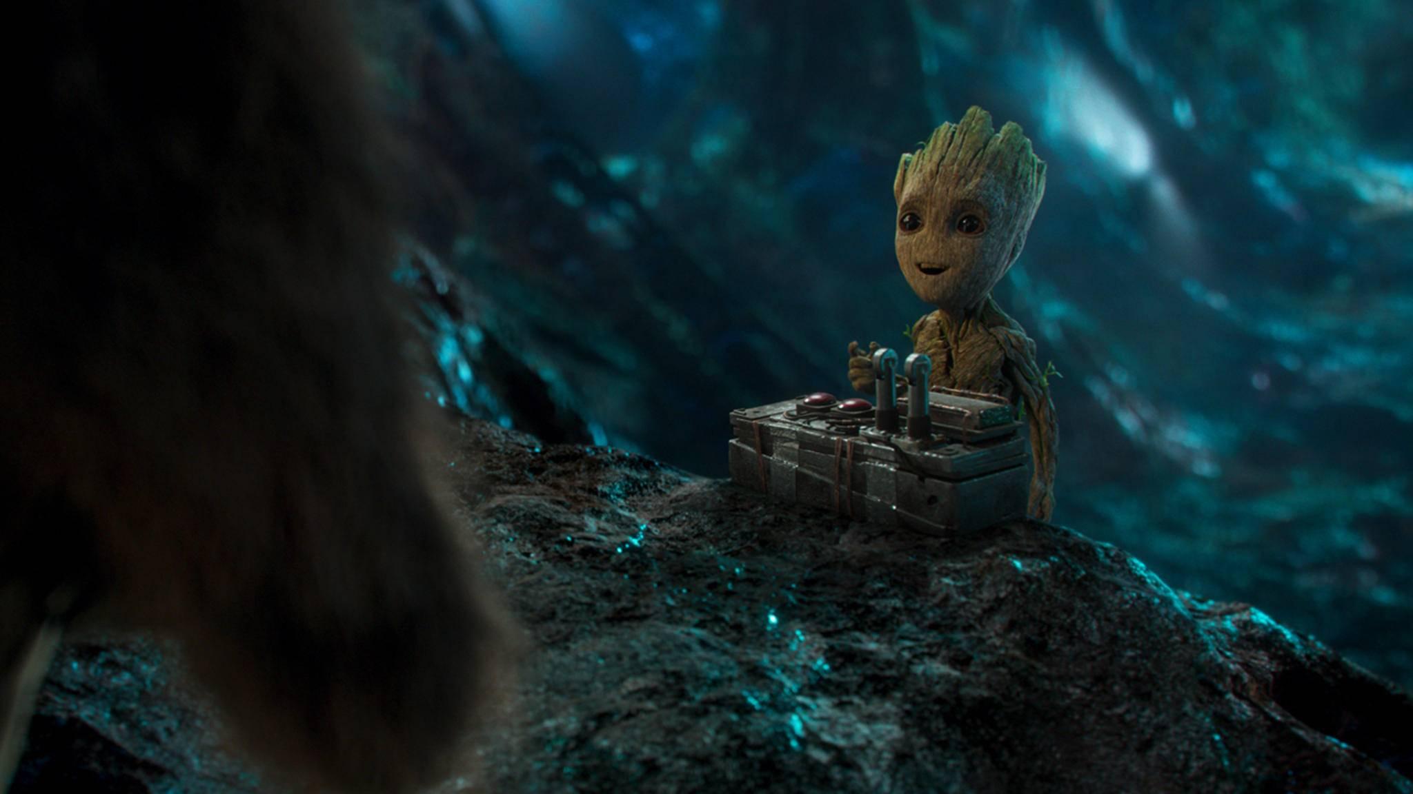 Schau mal, wer zurück ist, Groot!