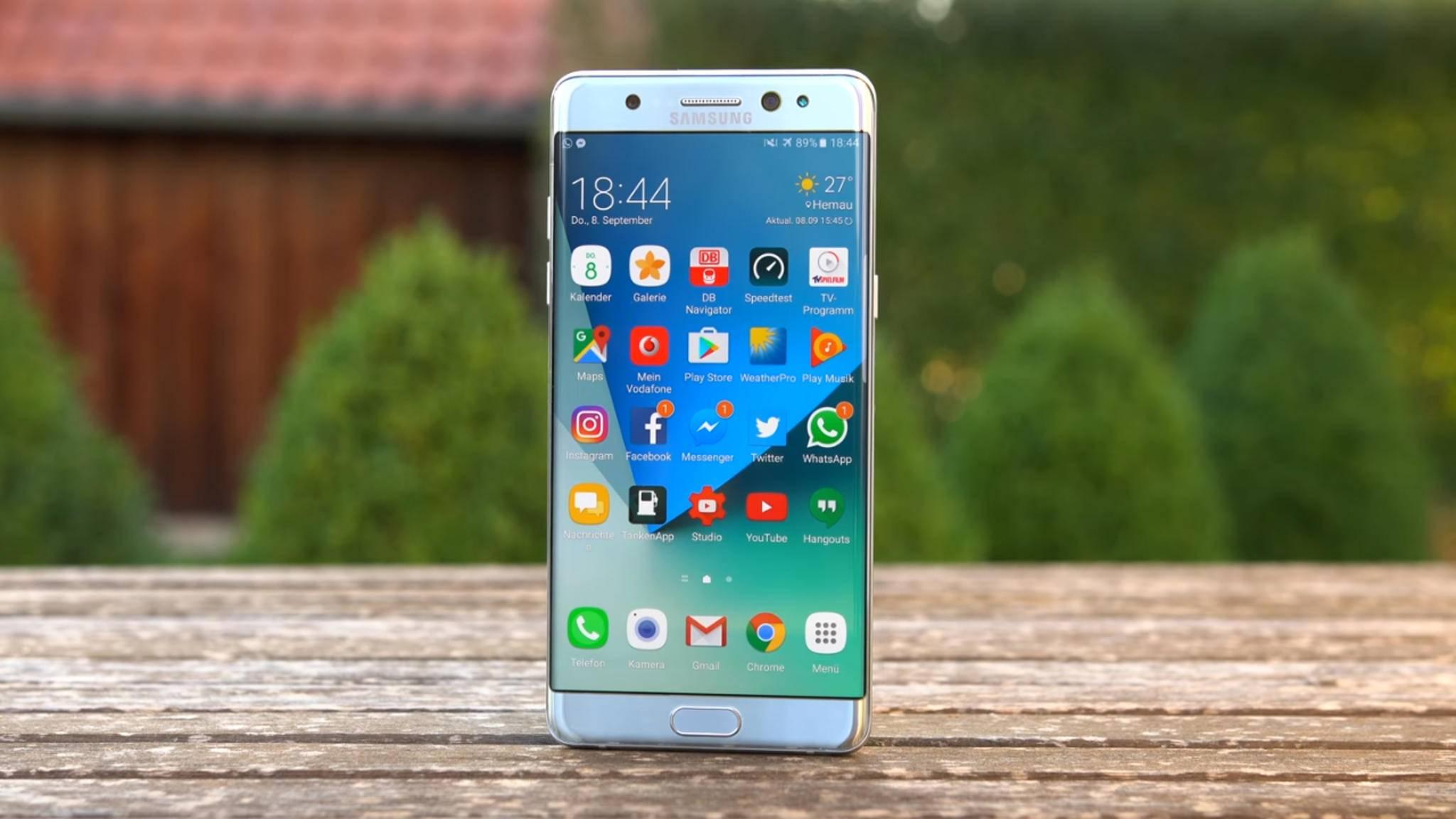 Eine Samsung-Untersuchung hat ergeben: Der Akku war dafür verantwortlich, dass einige Galaxy Note 7 explodierten.