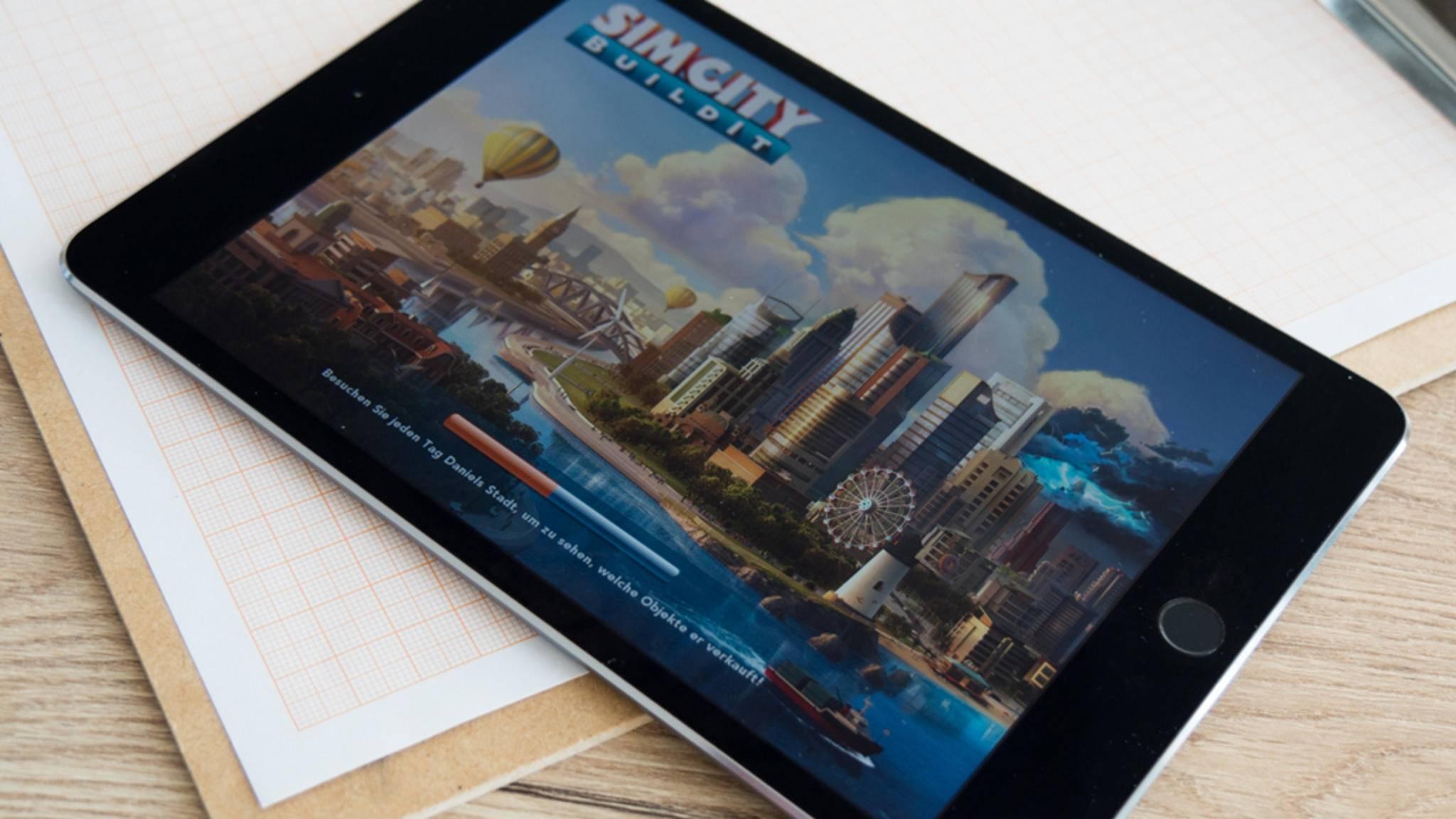 Schluss mit dicken Rändern: Das iPad 10,9 soll links und rechts ohne Ränder auskommen.