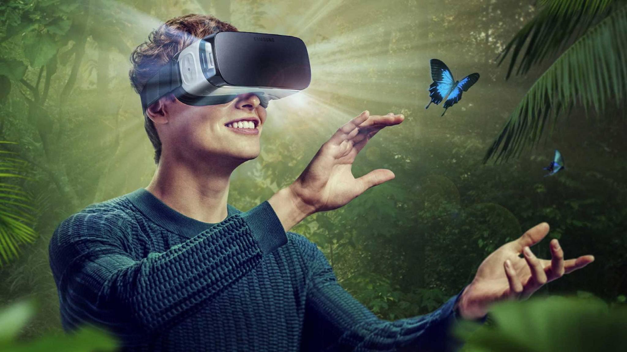 VR-Brillen lassen un in andere Welten eintauchen.