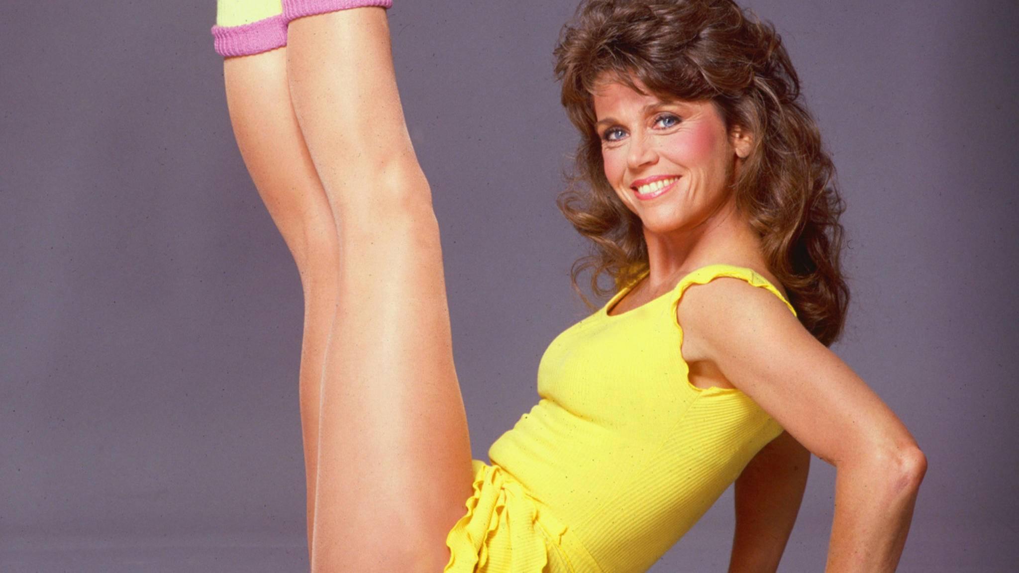 Jane Fonda machte Aerobic so richtig populär.