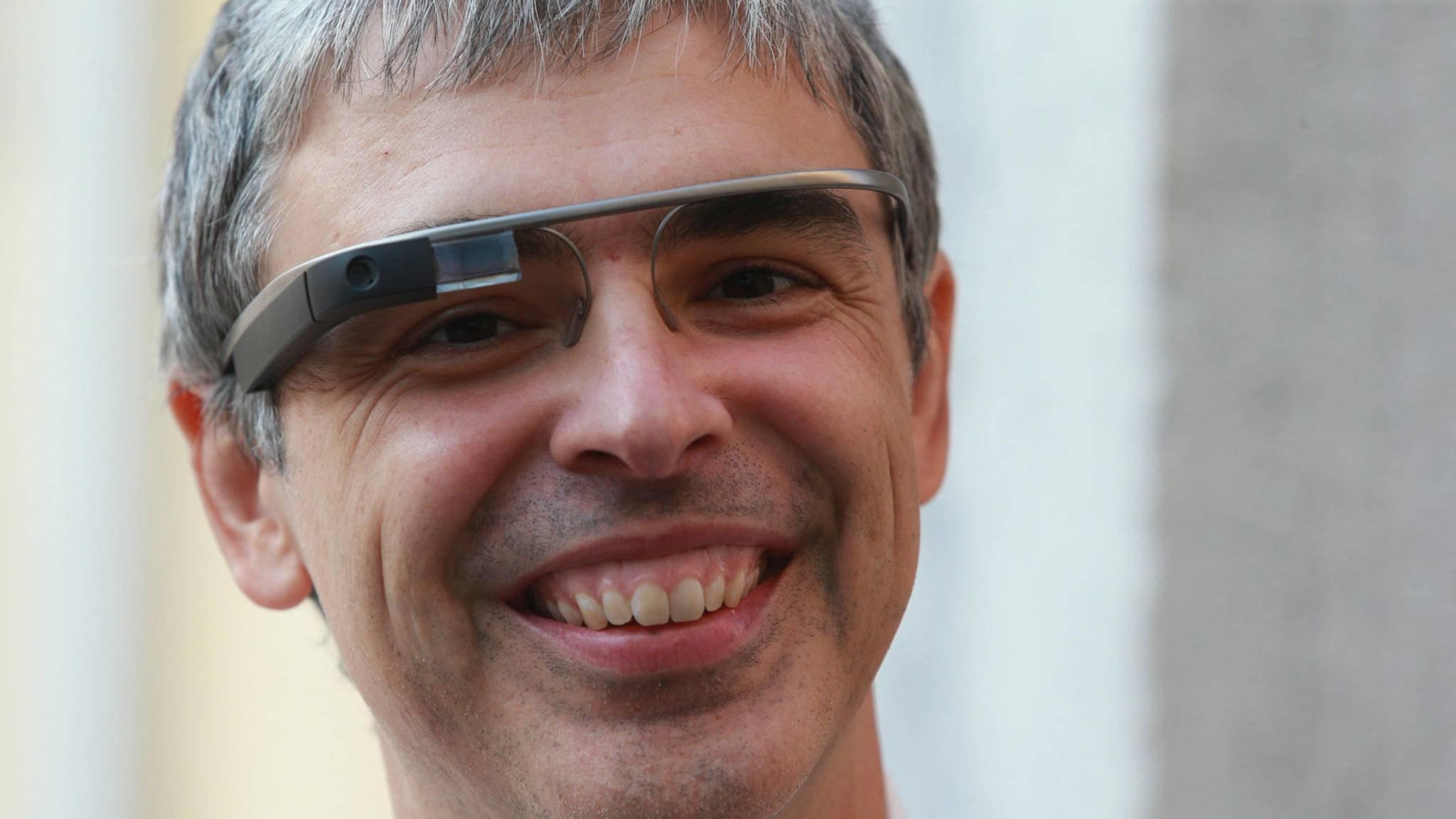 Google Glass dürfte Larry Page nicht mehr zum Lachen bringen.