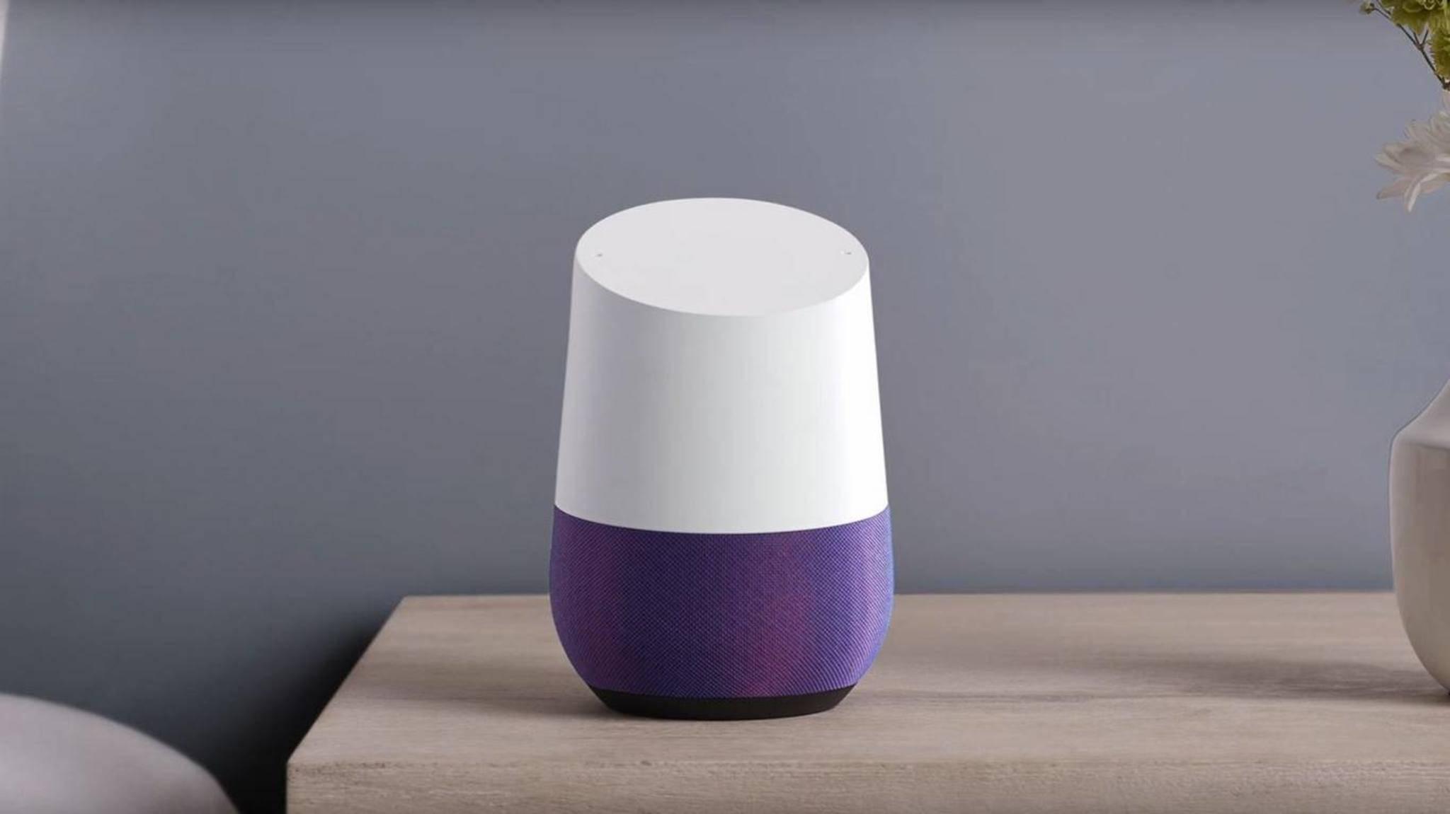 """Wenn eine Stimme im Fernsehen """"Okay Google"""" sagt, fühlt sich auch der Lautsprecher im Wohnzimmer angesprochen."""