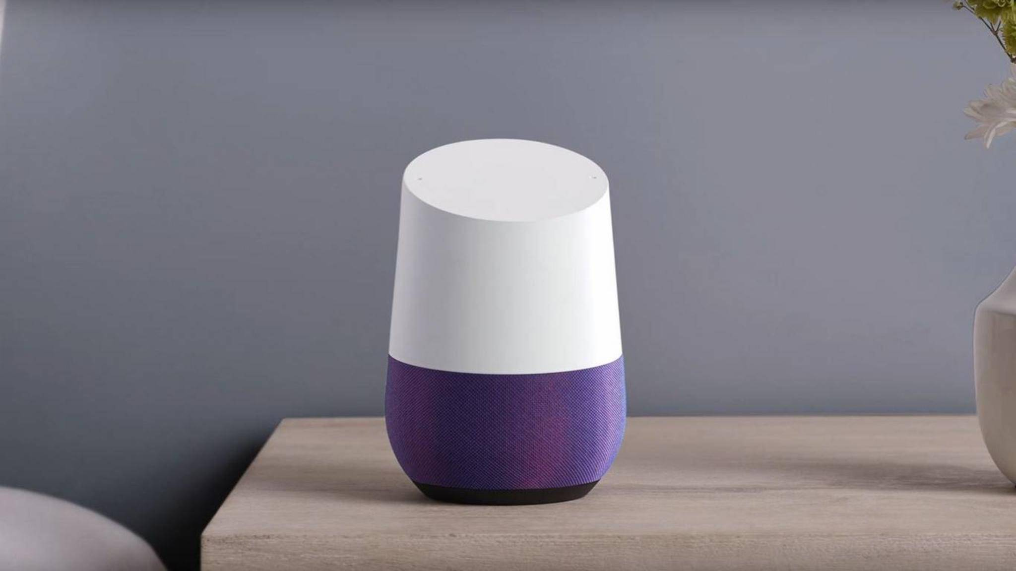 Mit Google Home will der Hersteller mit Amazon Echo konkurrieren.