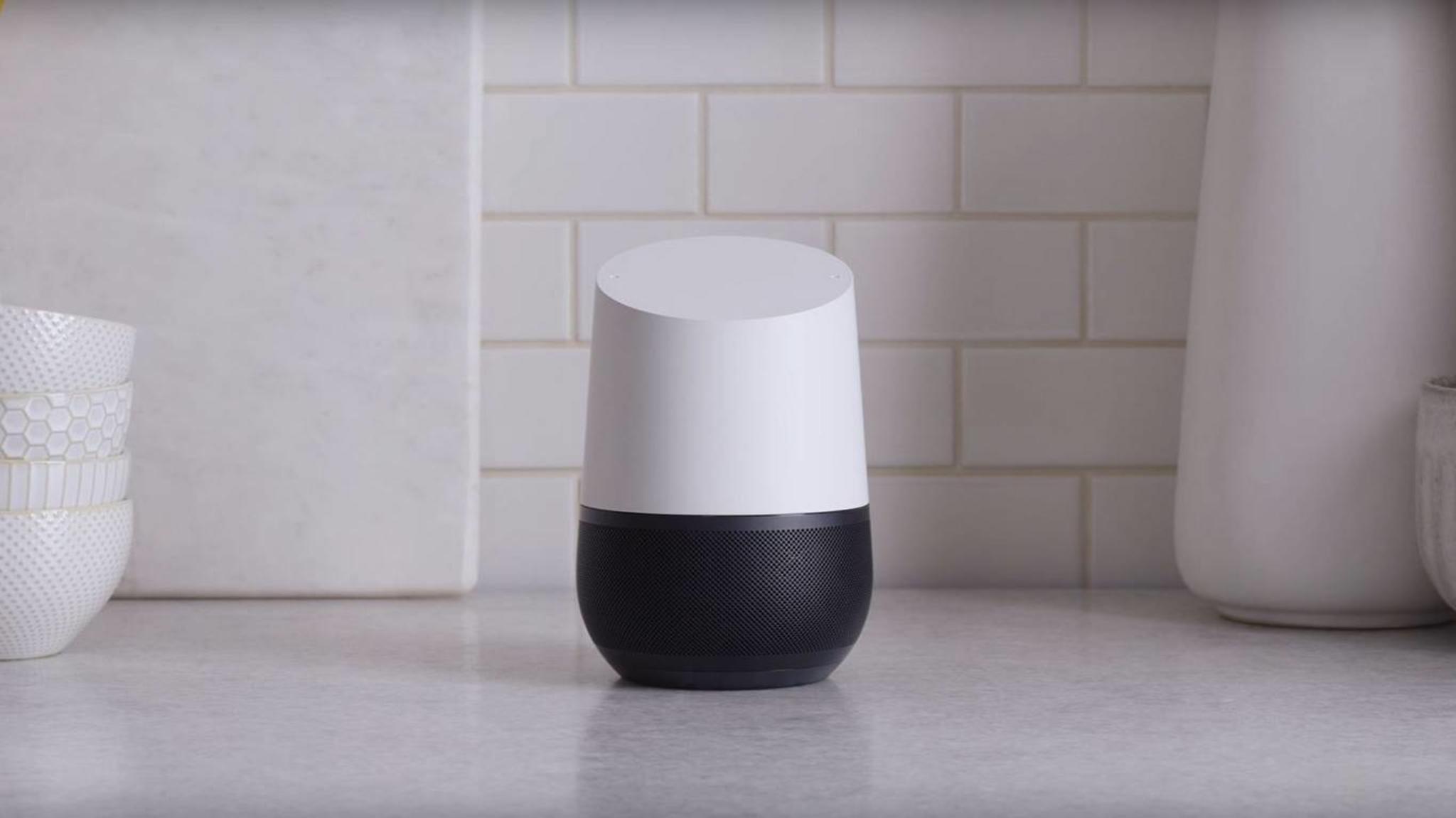 Mit Google Home kann man jetzt auch Bestellungen aufgeben.