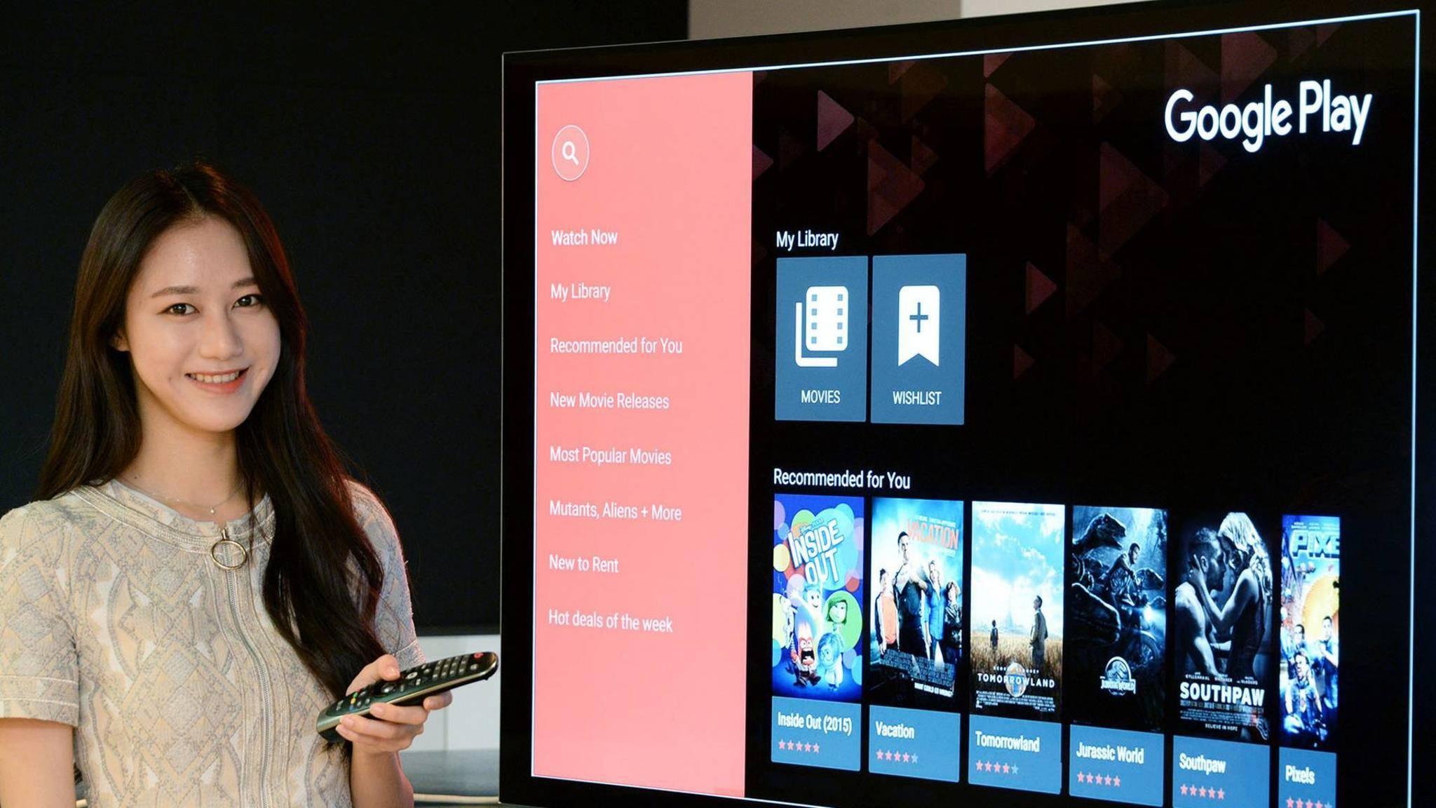 Google Play Movies bekommt 4K-Inhalte.
