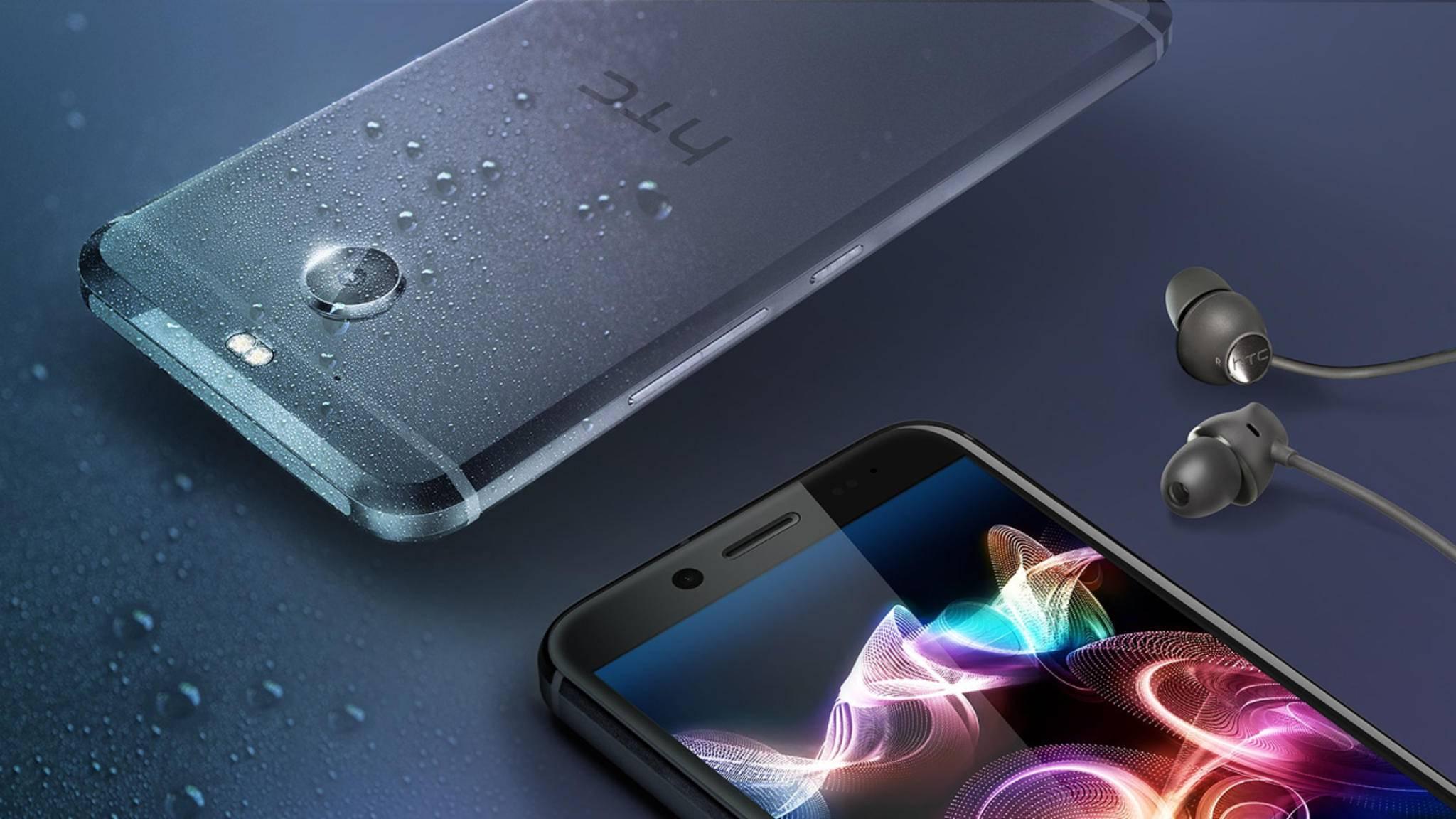 Das HTC 10 Evo ist ein Mittelklasse-Smartphone mit 5,5-Zoll-Screen.